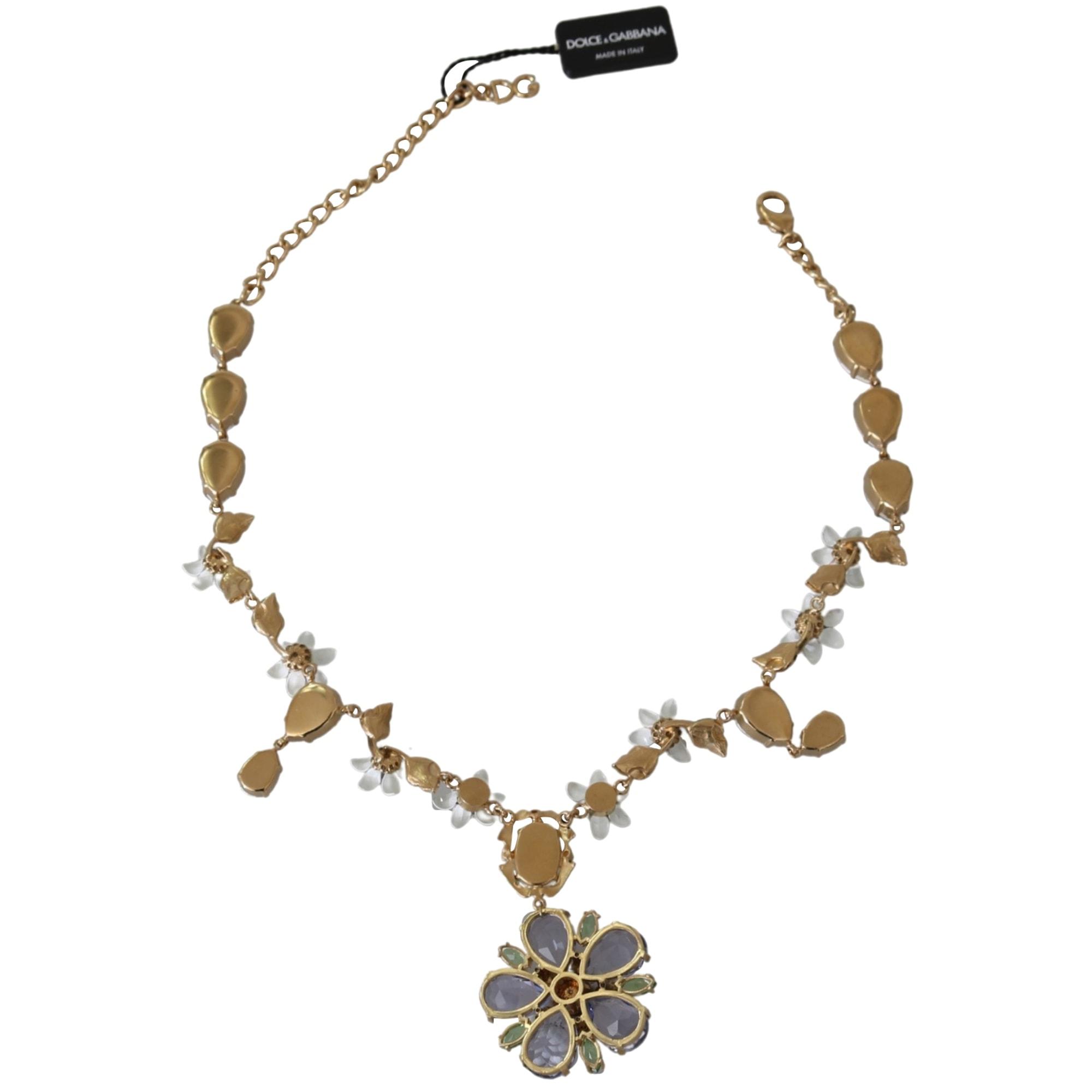 Necklace DOLCE & GABBANA Golden, bronze, copper