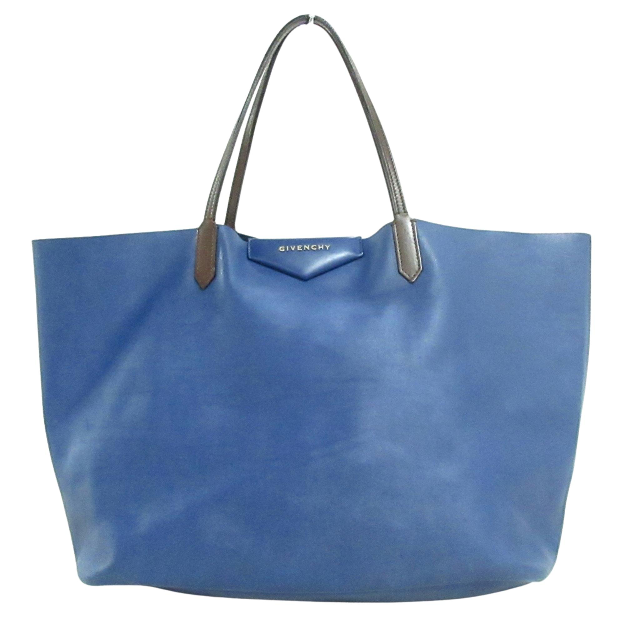 Ledertasche groß GIVENCHY Blau, marineblau, türkisblau