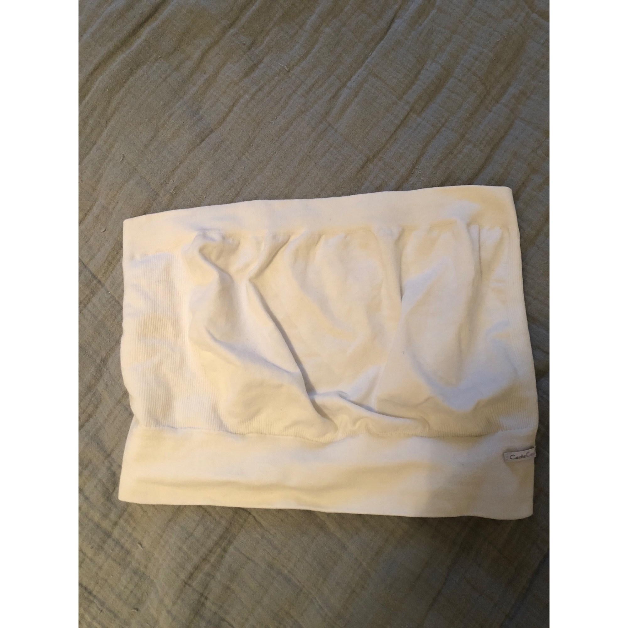 Culotte de grossesse MARQUE INCONNUE Blanc, blanc cassé, écru
