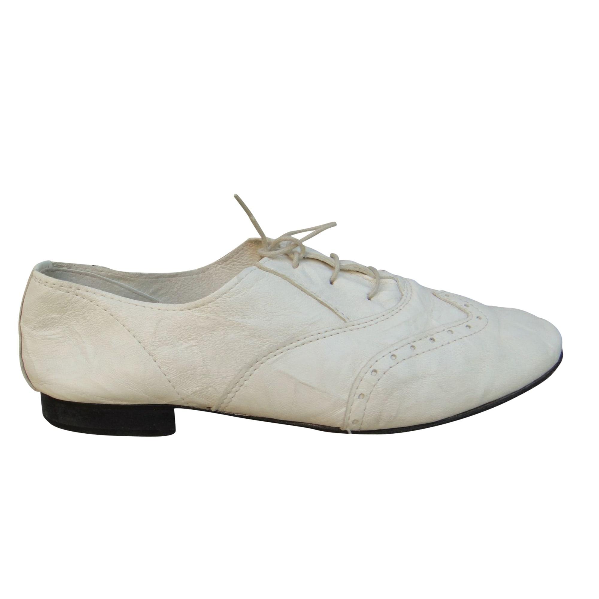 Chaussures à lacets  ANNIEL Blanc, blanc cassé, écru