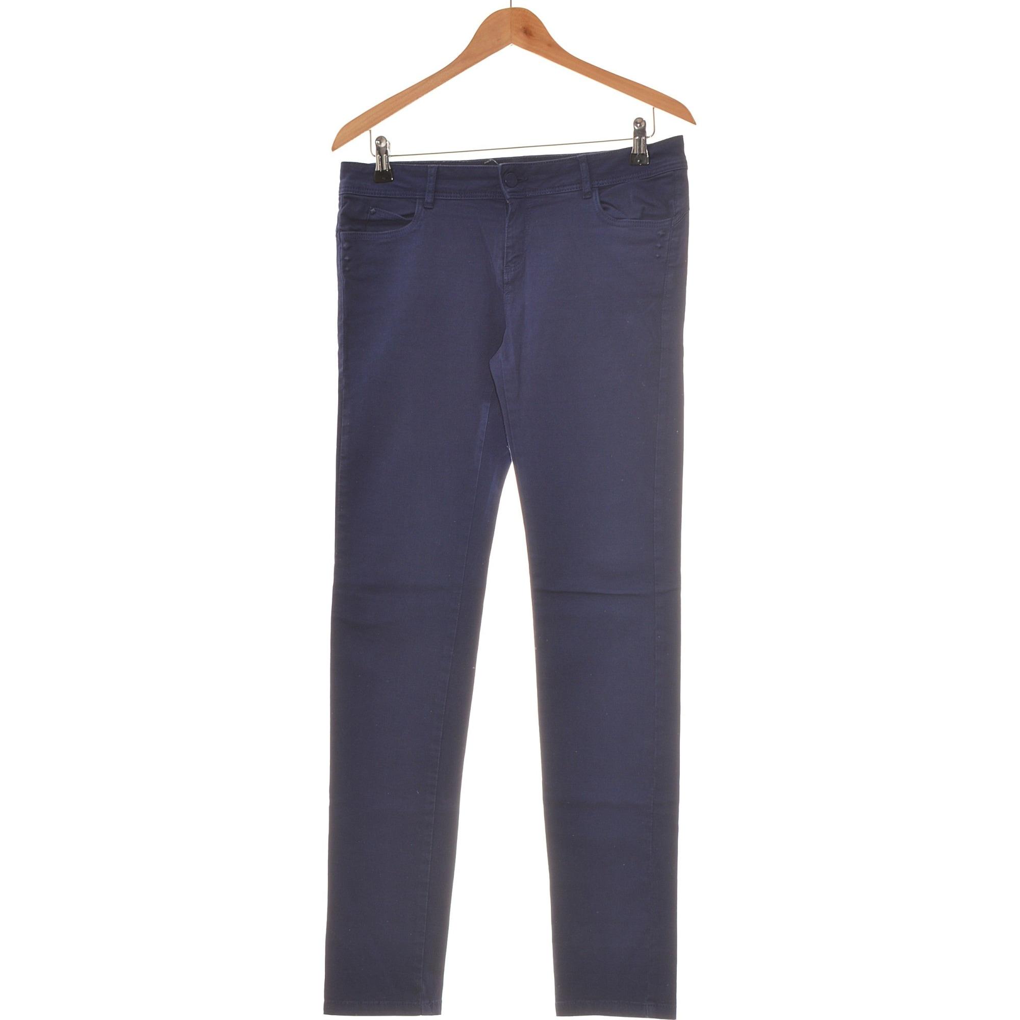 Jeans slim PROMOD Bleu, bleu marine, bleu turquoise