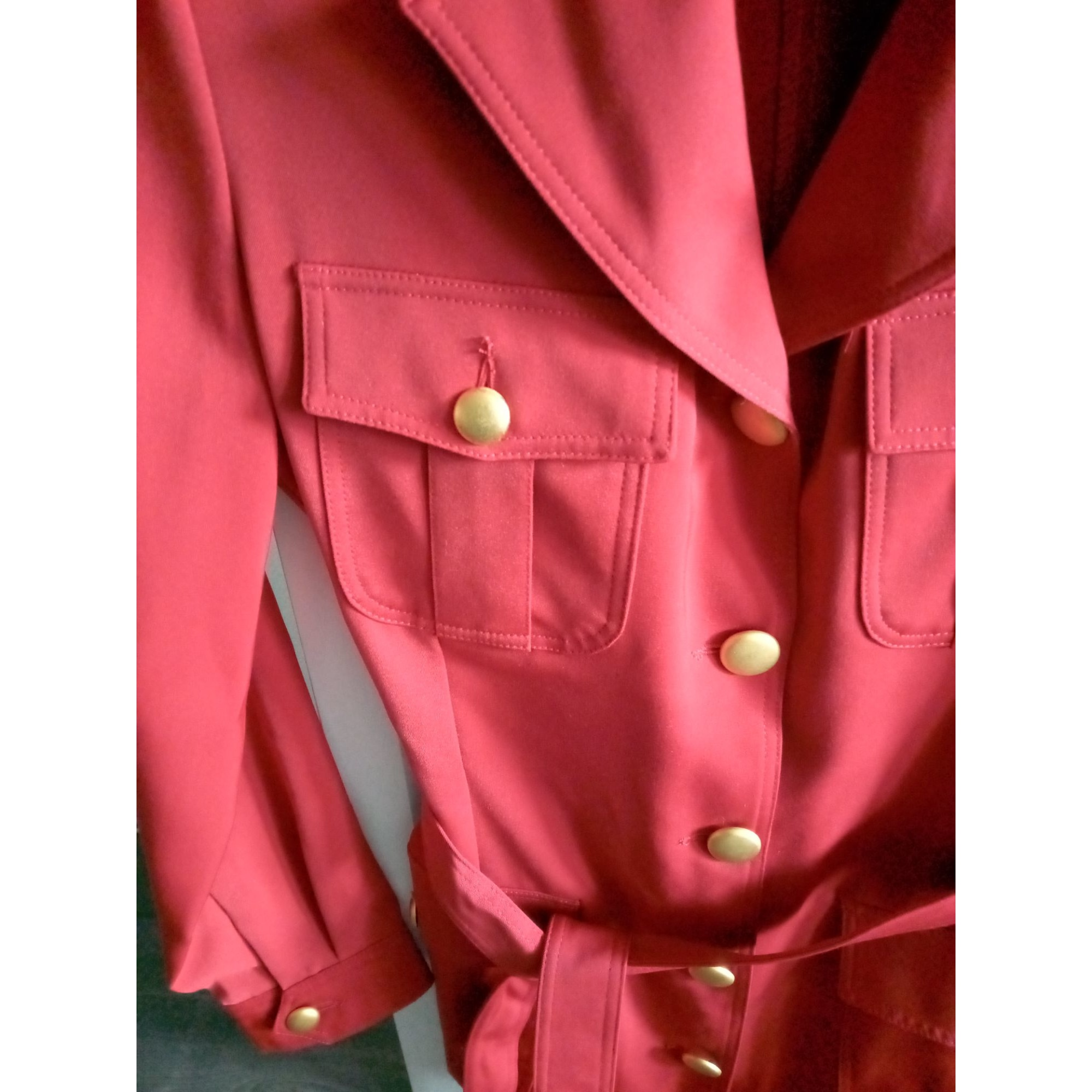 Blazer, veste tailleur ALAIN MANOUKIAN Rouge, bordeaux
