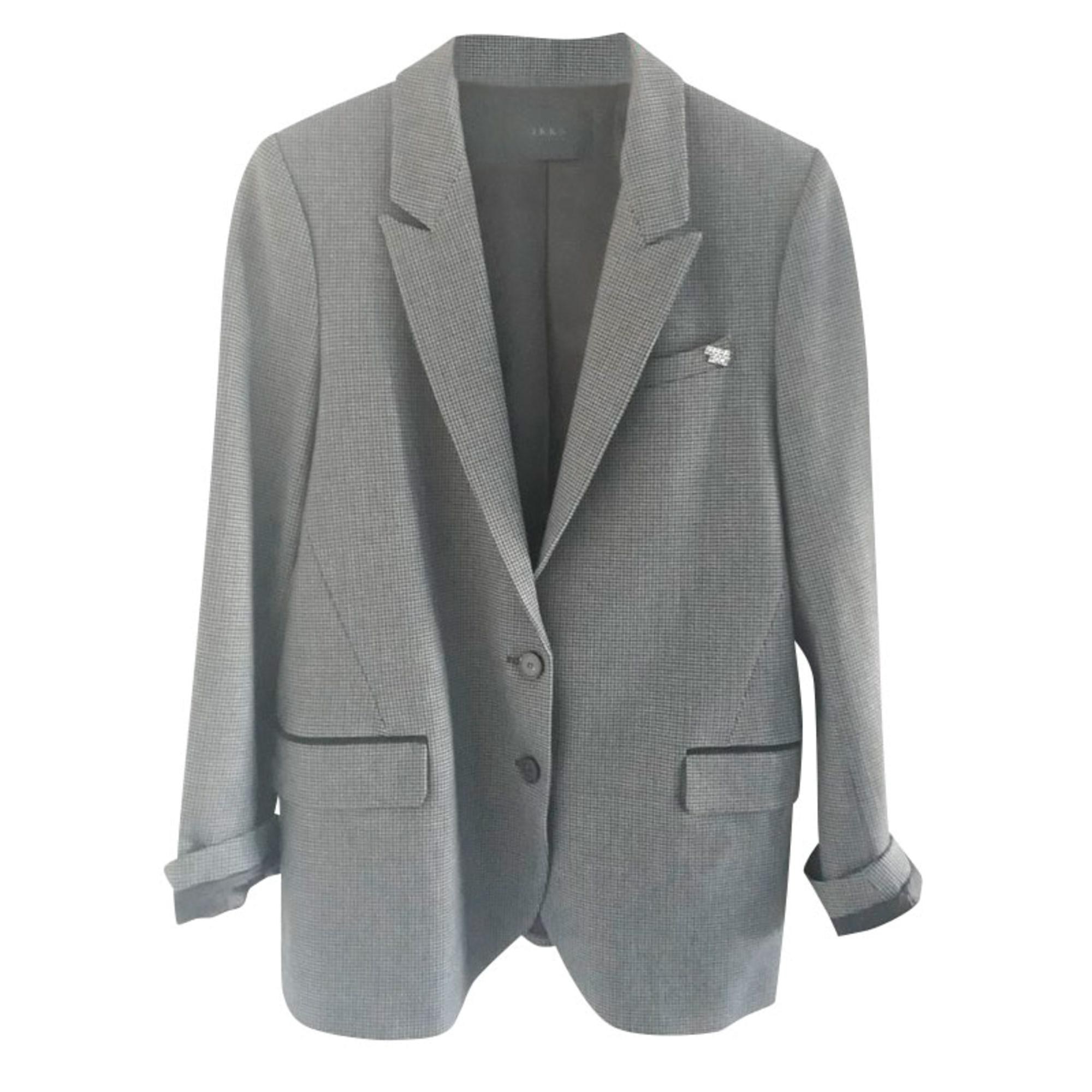 Blazer, veste tailleur IKKS Gris, anthracite