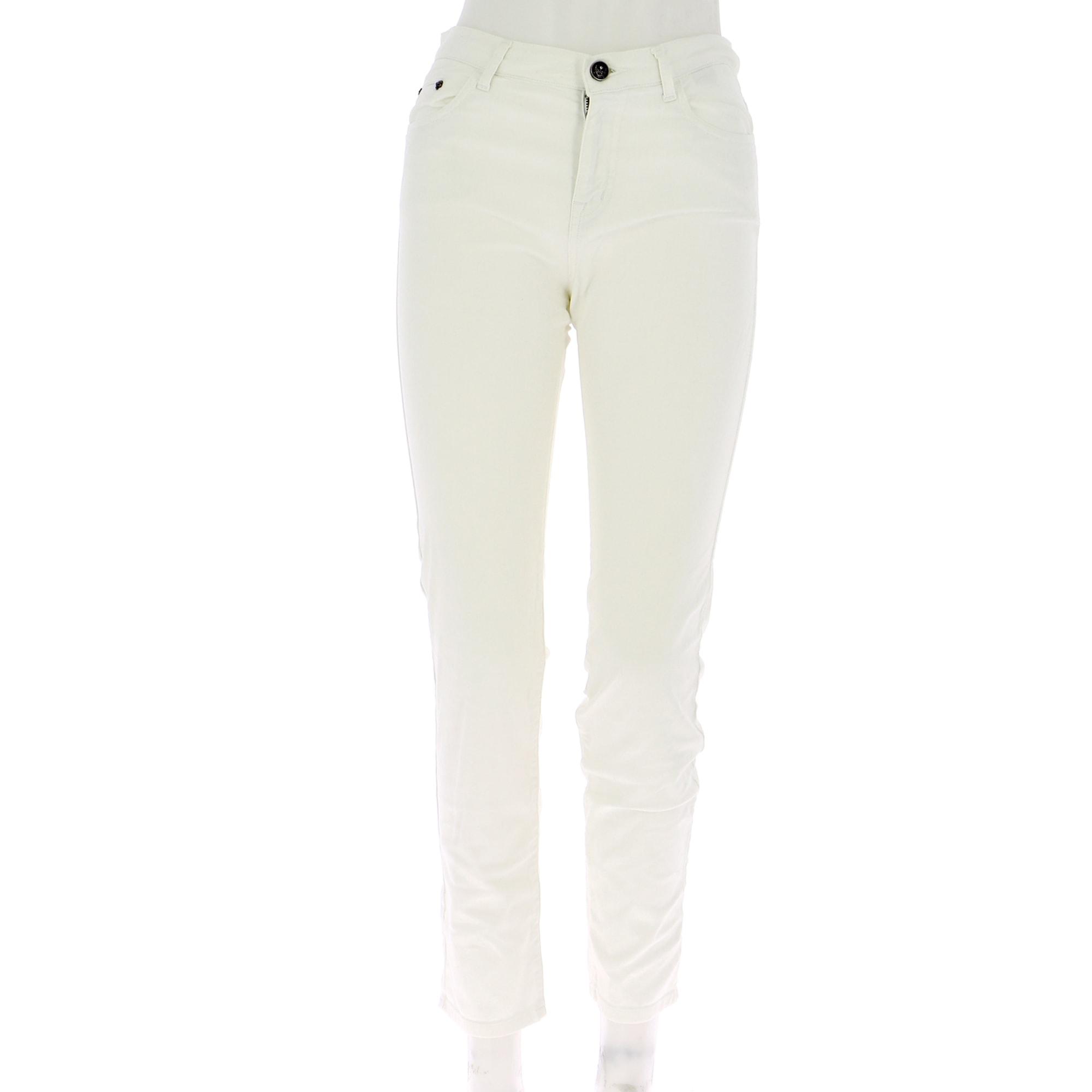 Pantalon droit THE KOOPLES Blanc, blanc cassé, écru