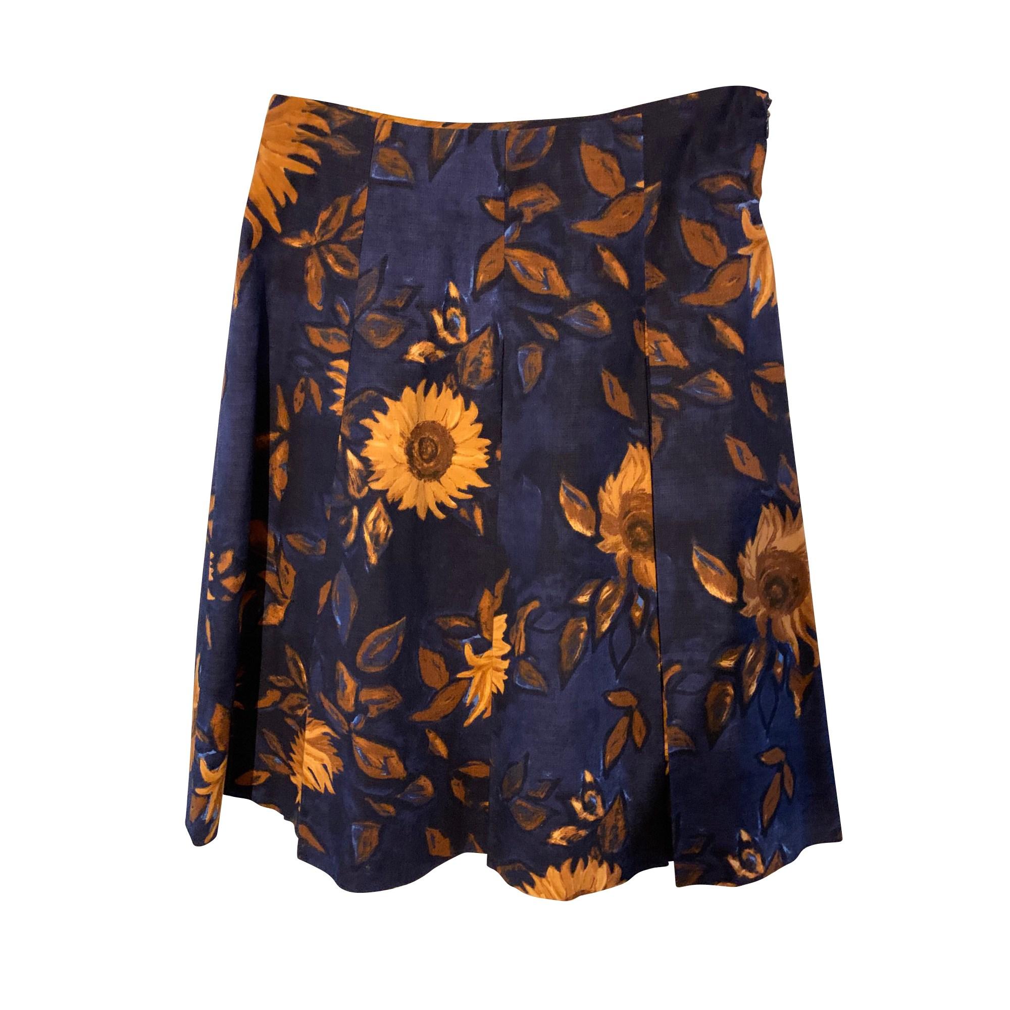 Jupe courte MAX MARA Bleu, bleu marine, bleu turquoise