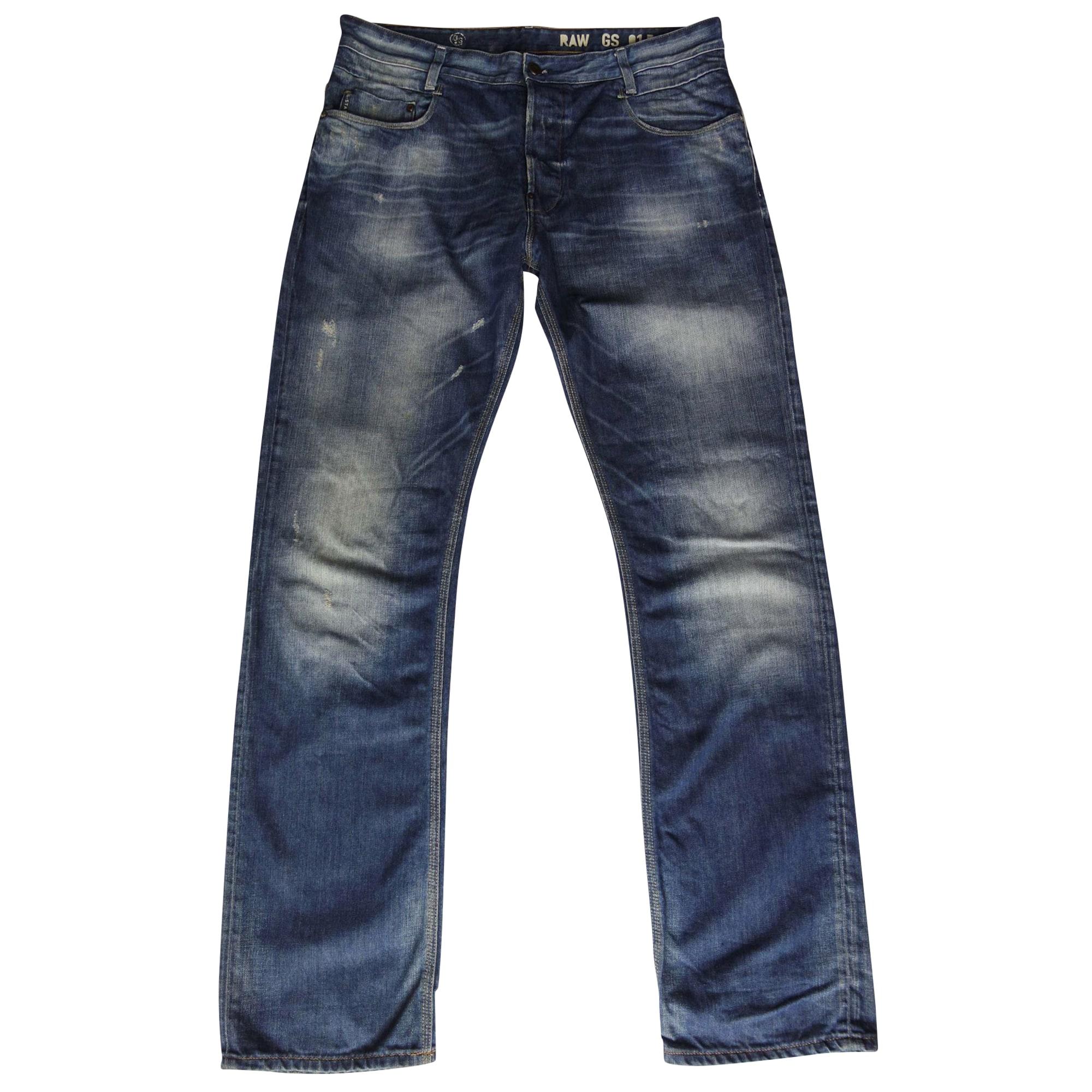 Straight Leg Jeans G-STAR Blue, navy, turquoise