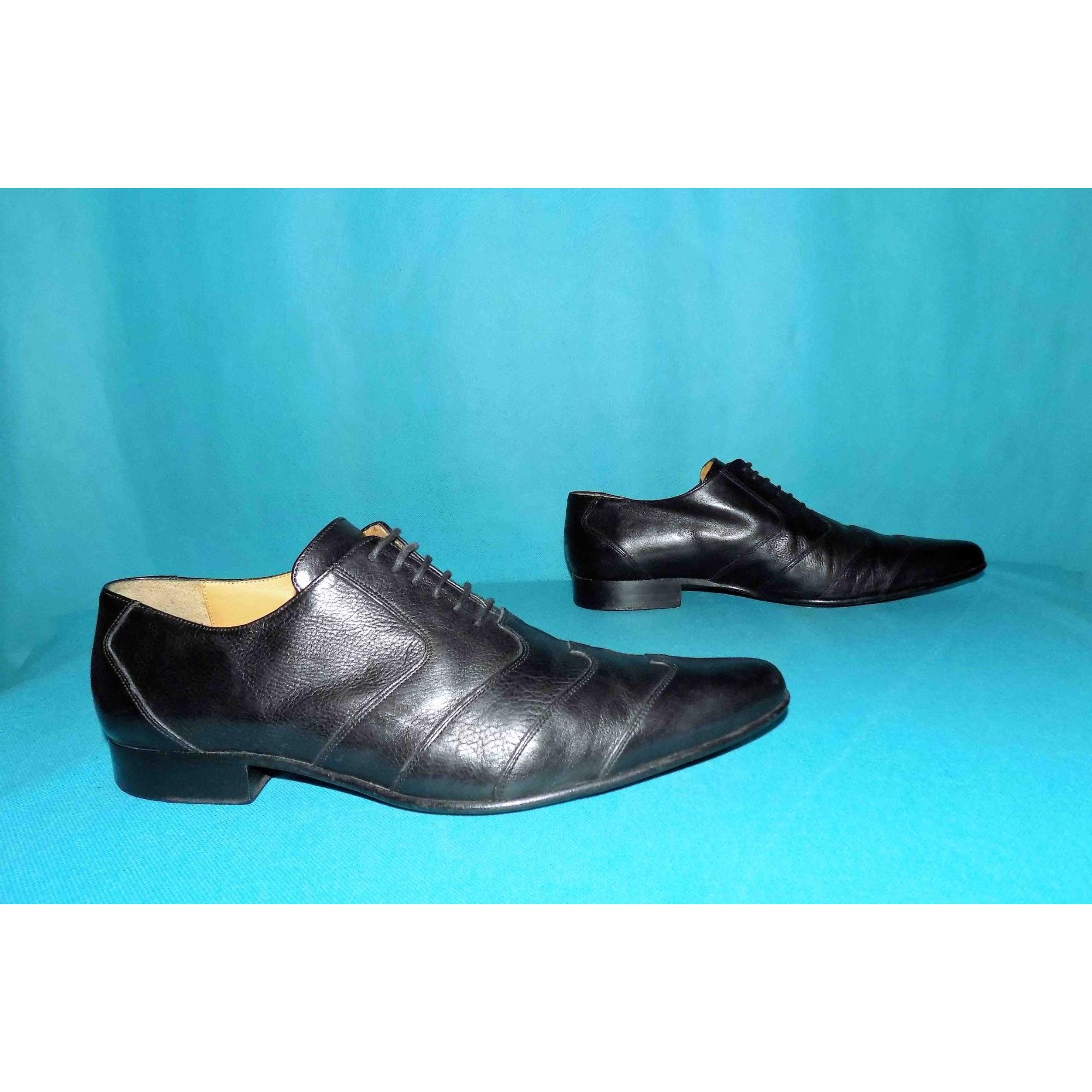 Chaussures à lacets JEAN BAPTISTE RAUTUREAU Noir