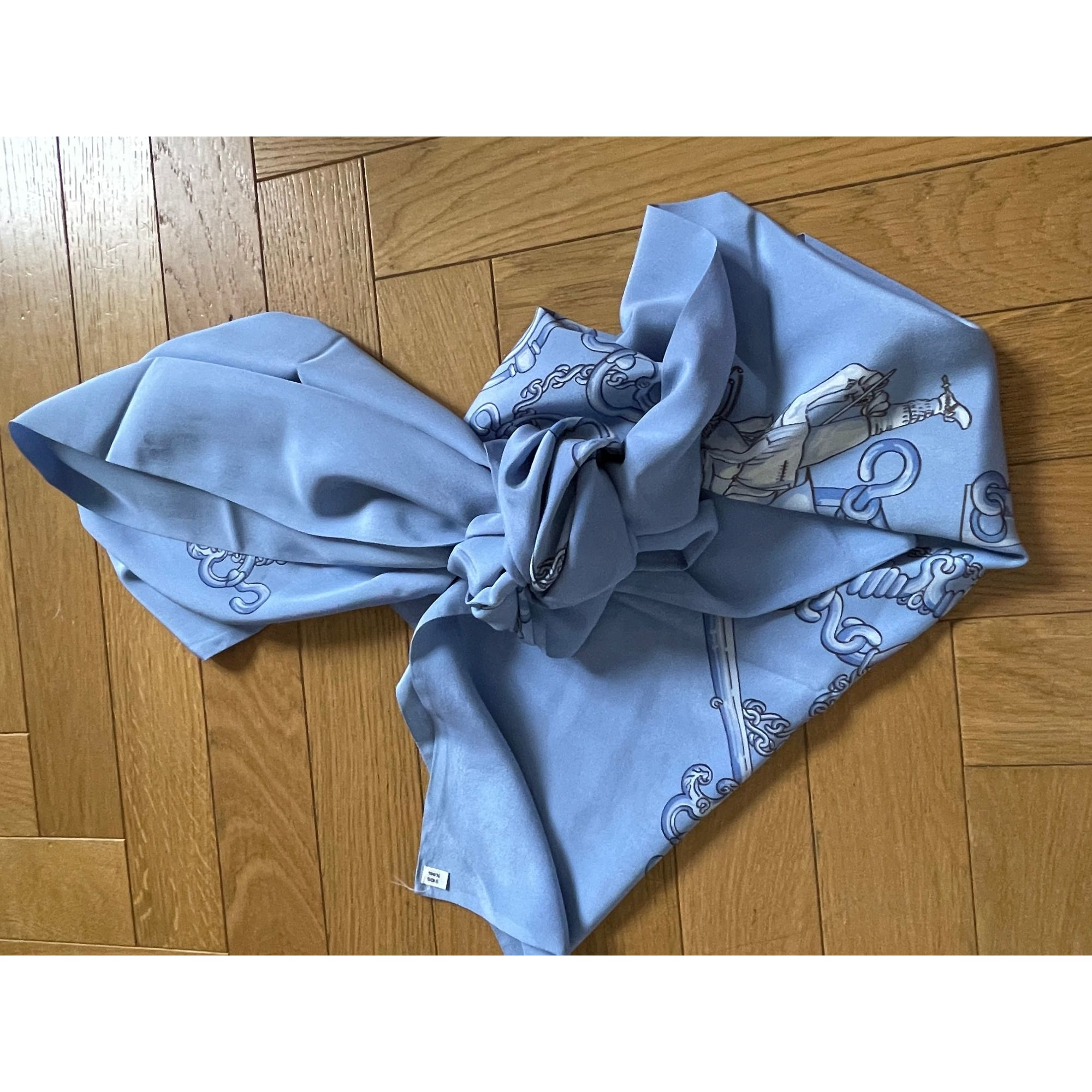 Etole HERMÈS Bleu, bleu marine, bleu turquoise