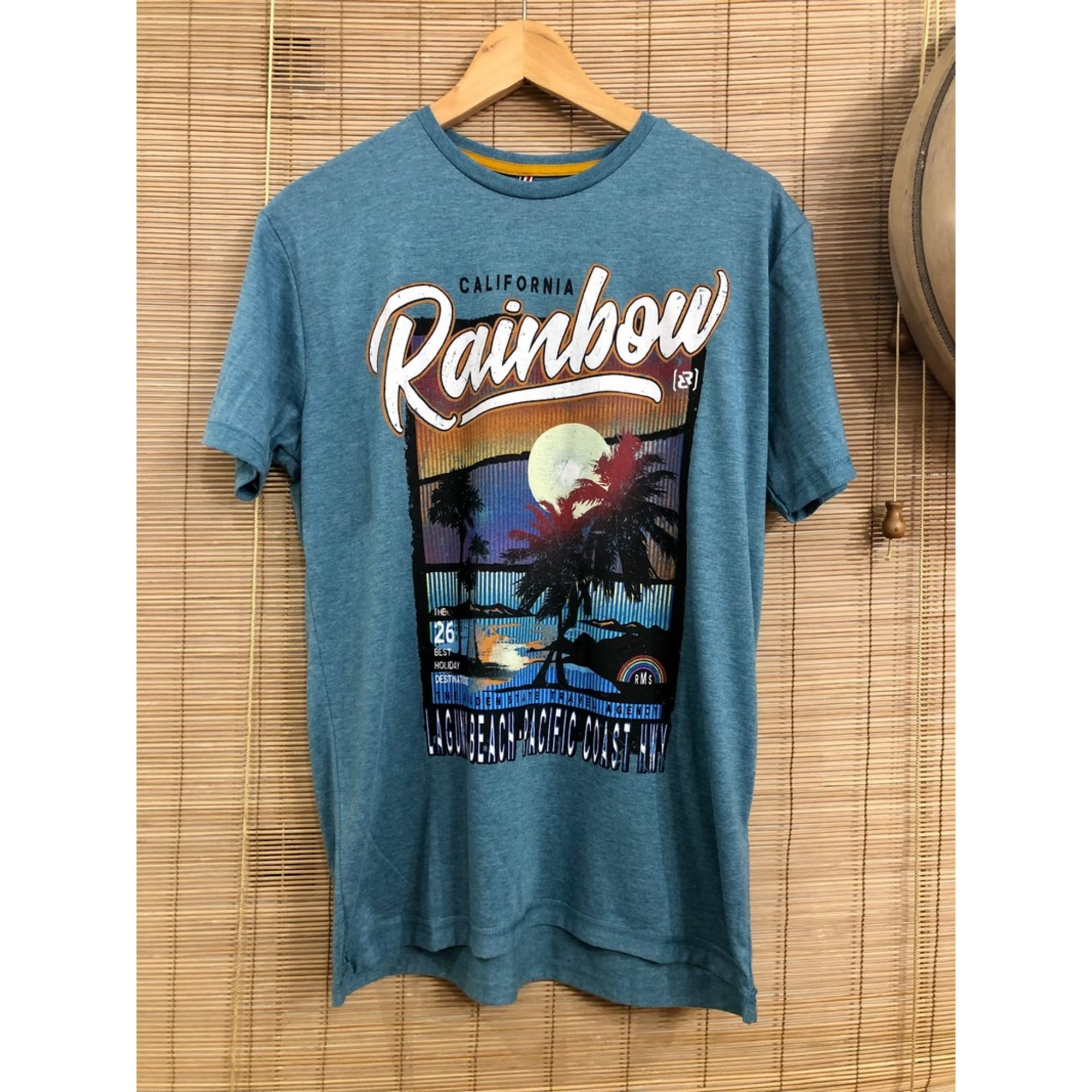 Tee-shirt RMS 26 Bleu, bleu marine, bleu turquoise