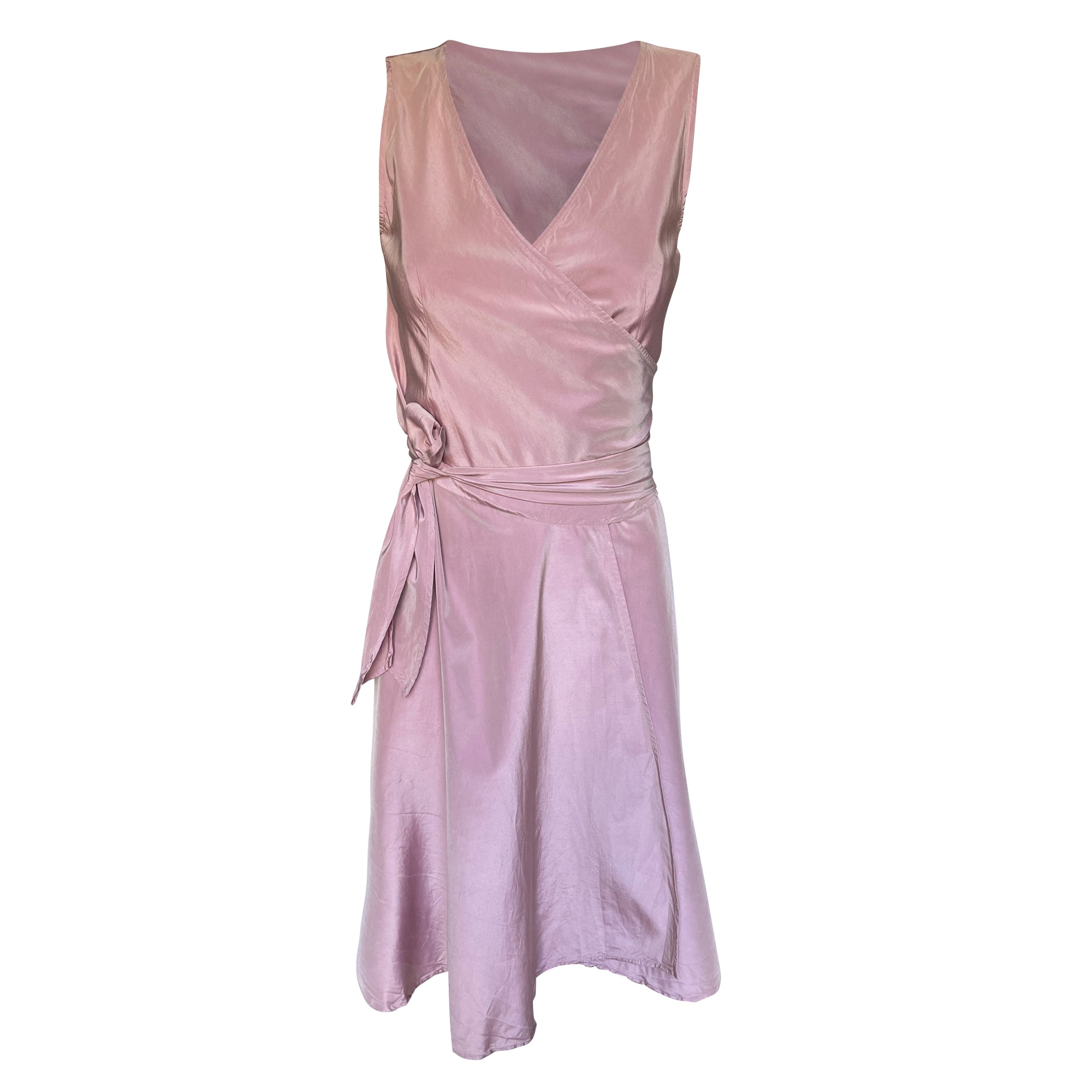 Robe courte MAX MARA Rose, fuschia, vieux rose