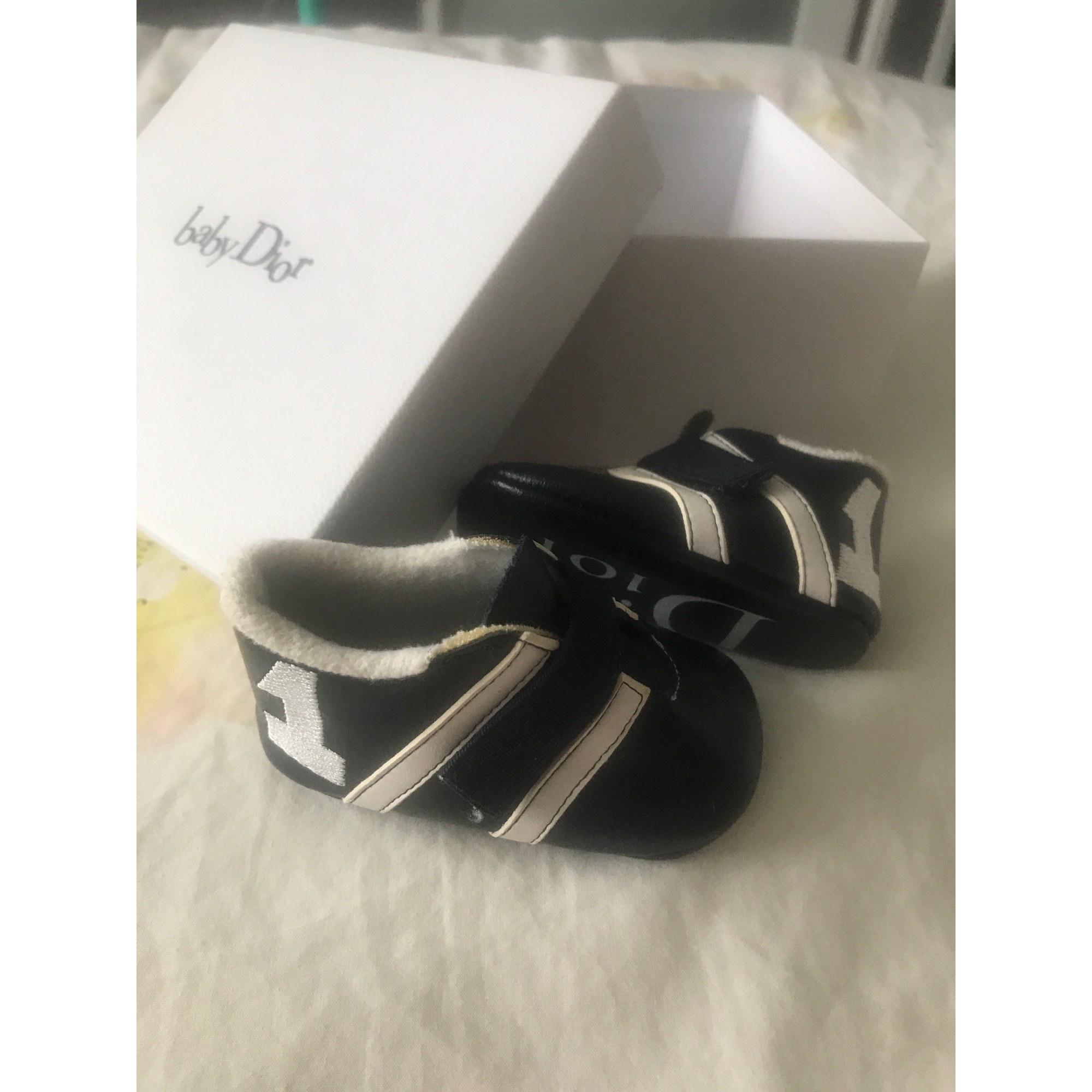 Sneakers BABY DIOR Black