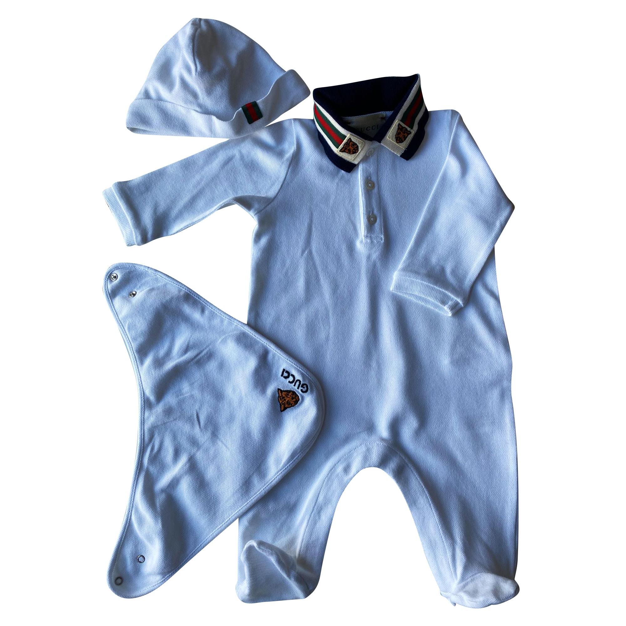 Anzug, Hosen-Set für Kinder GUCCI Weiß, elfenbeinfarben