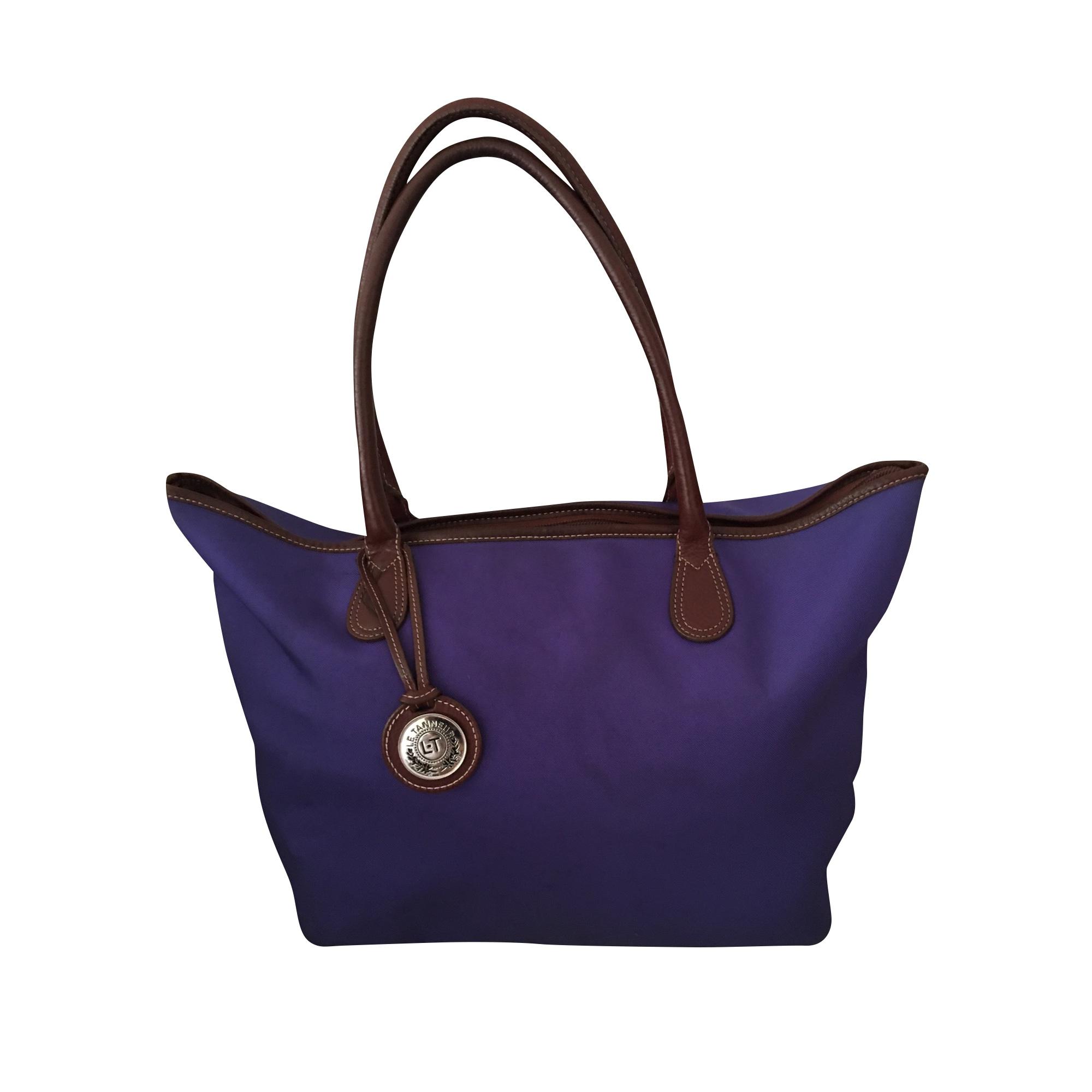 Sac XL en tissu LE TANNEUR Bleu, bleu marine, bleu turquoise