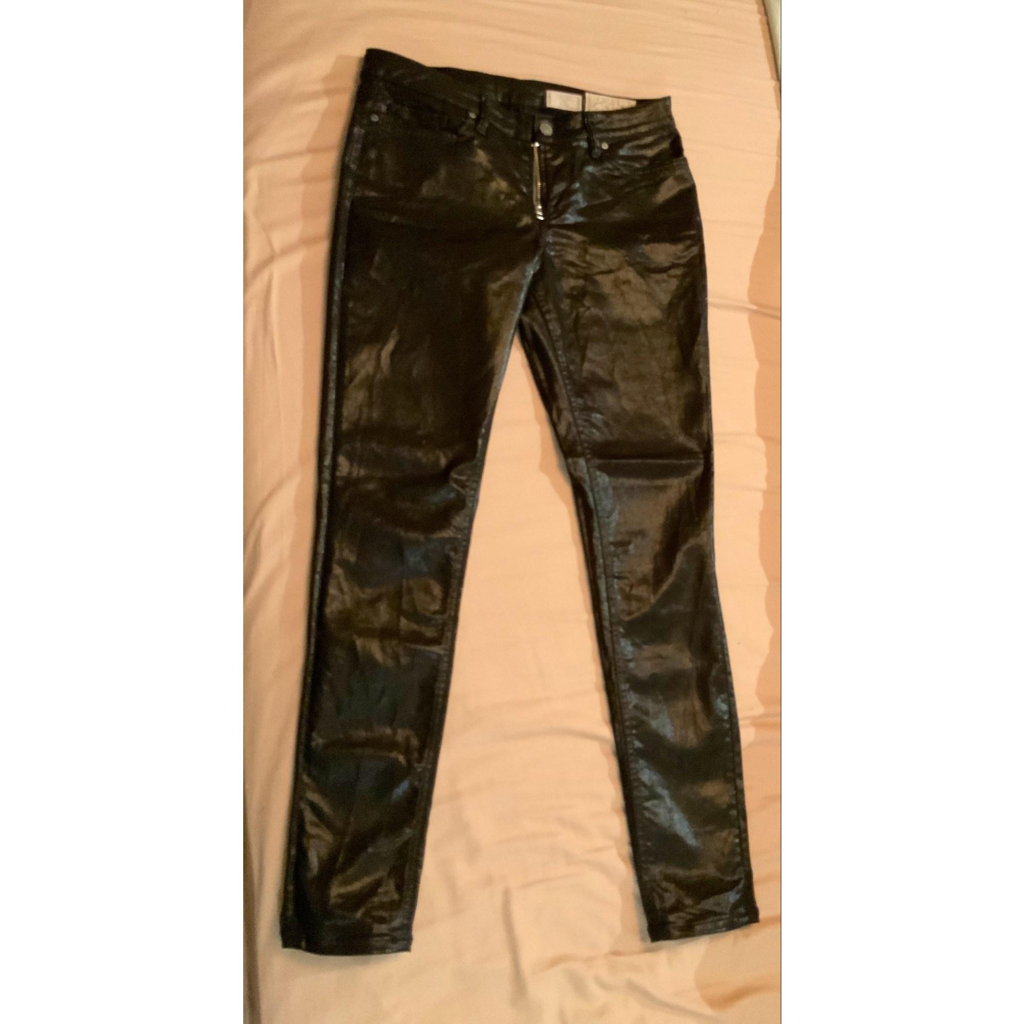 Pantalon slim, cigarette ALL SAINTS Noir