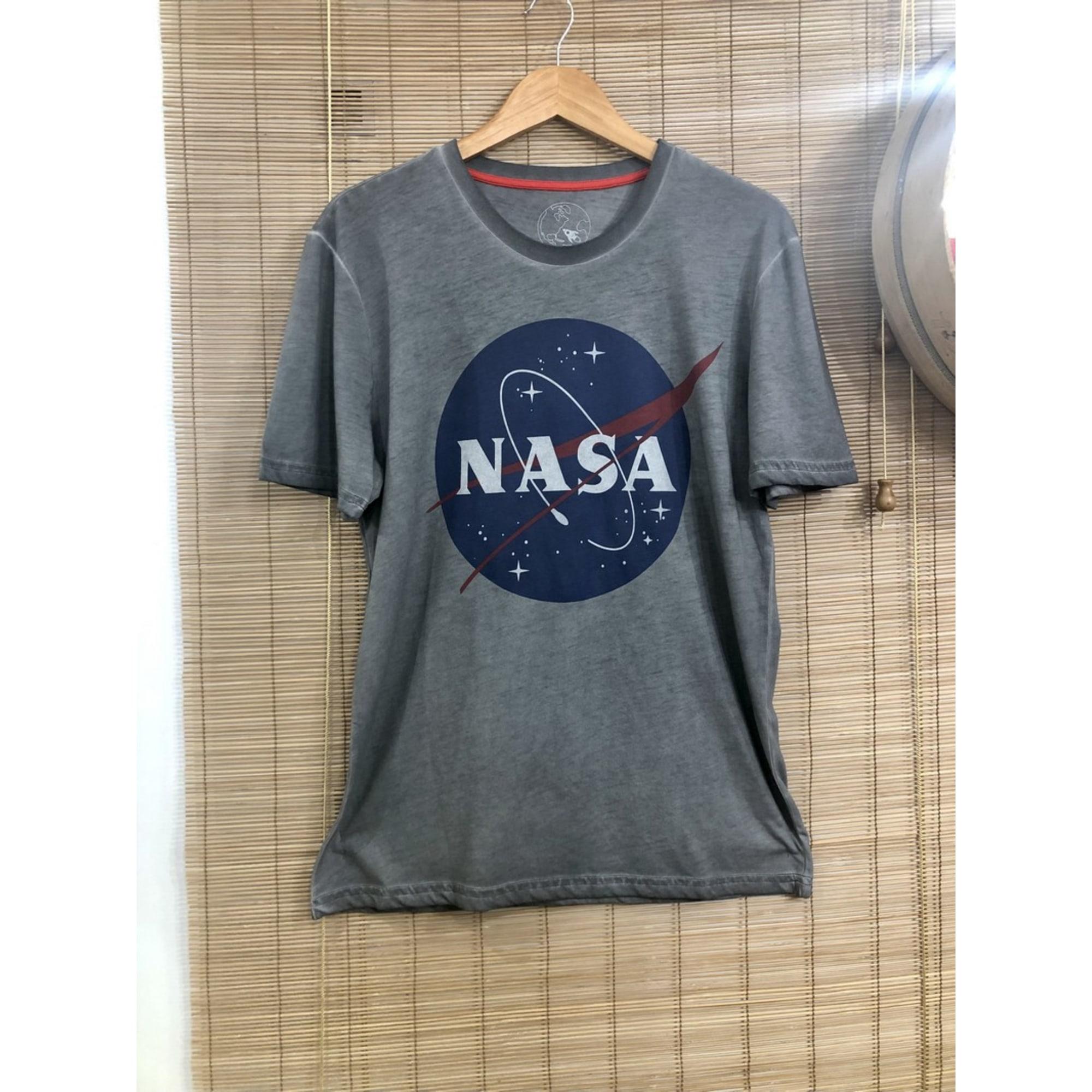 Tee-shirt NASA Gris, anthracite