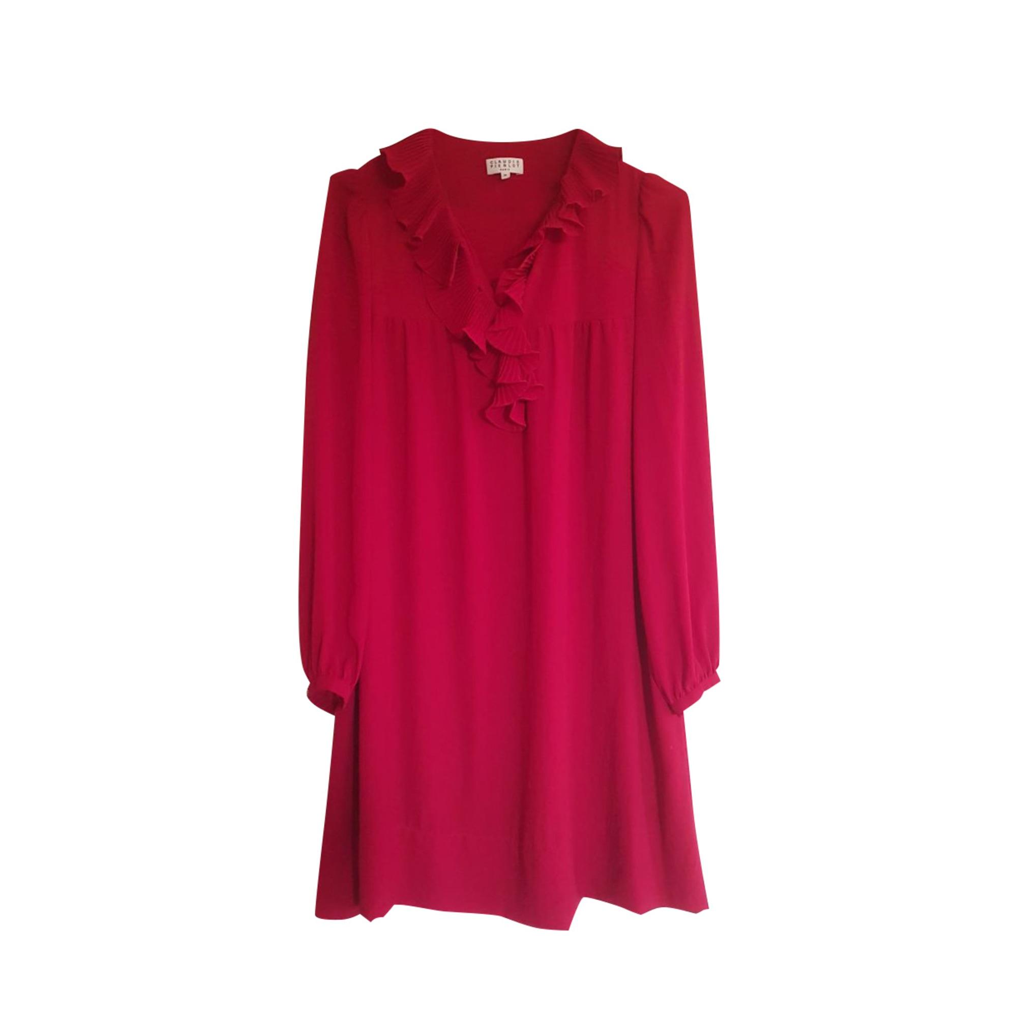 Robe courte CLAUDIE PIERLOT Rouge, bordeaux
