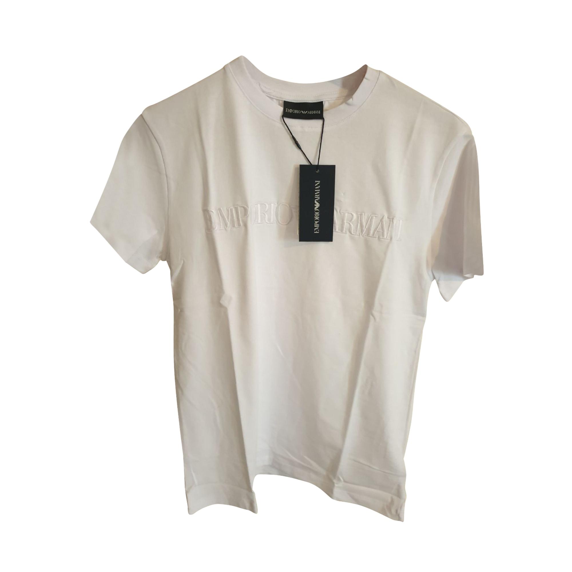 T-shirt EMPORIO ARMANI White, off-white, ecru