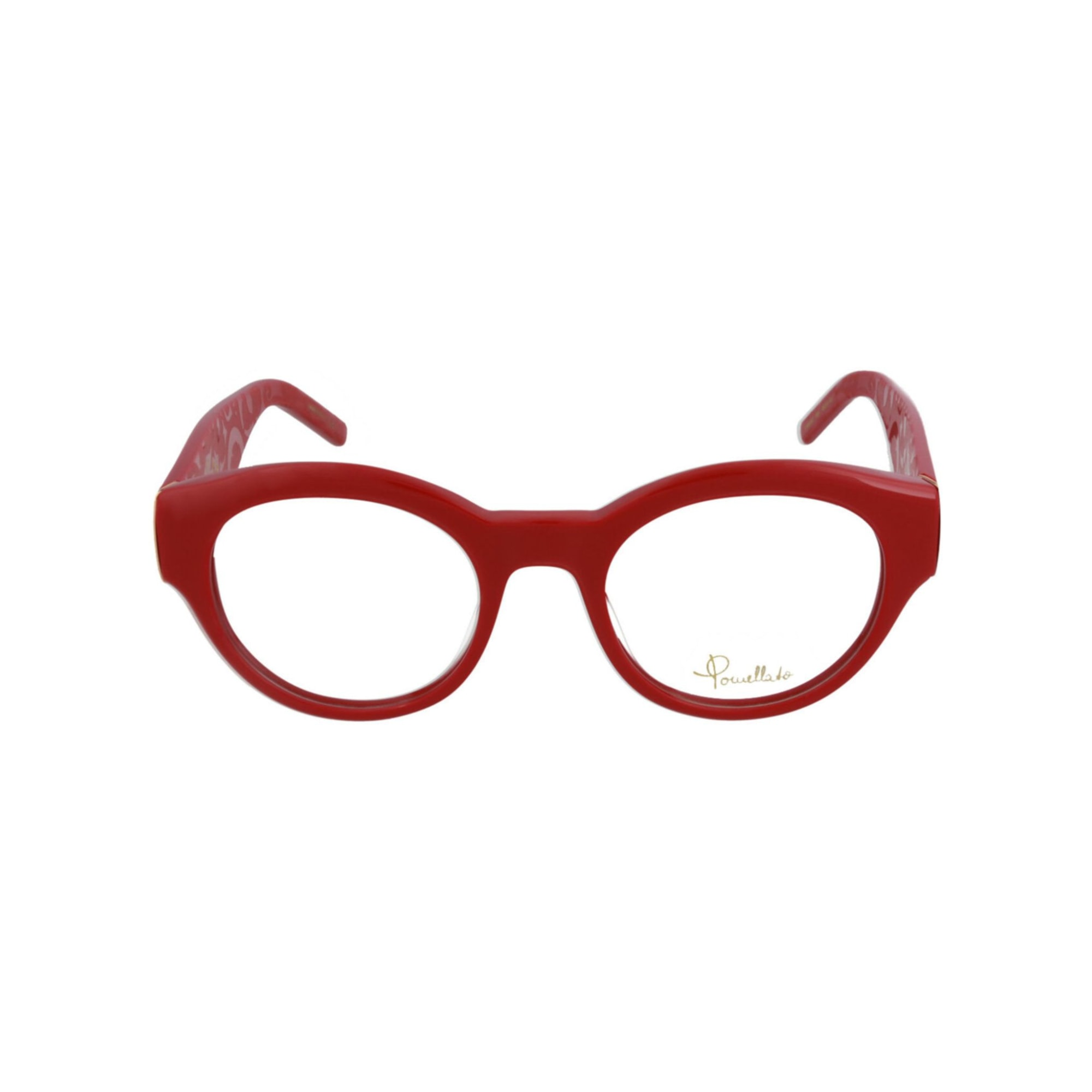 Eyeglass Frames POMELLATO Red, burgundy