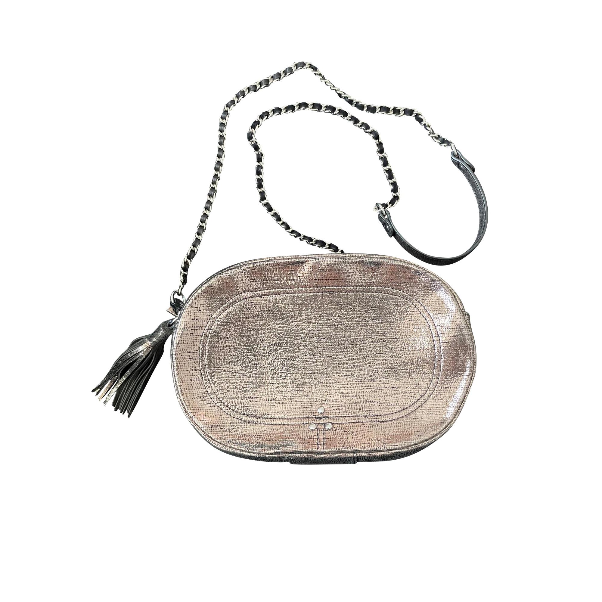 Schultertasche Leder JEROME DREYFUSS Gold, Bronze, Kupfer