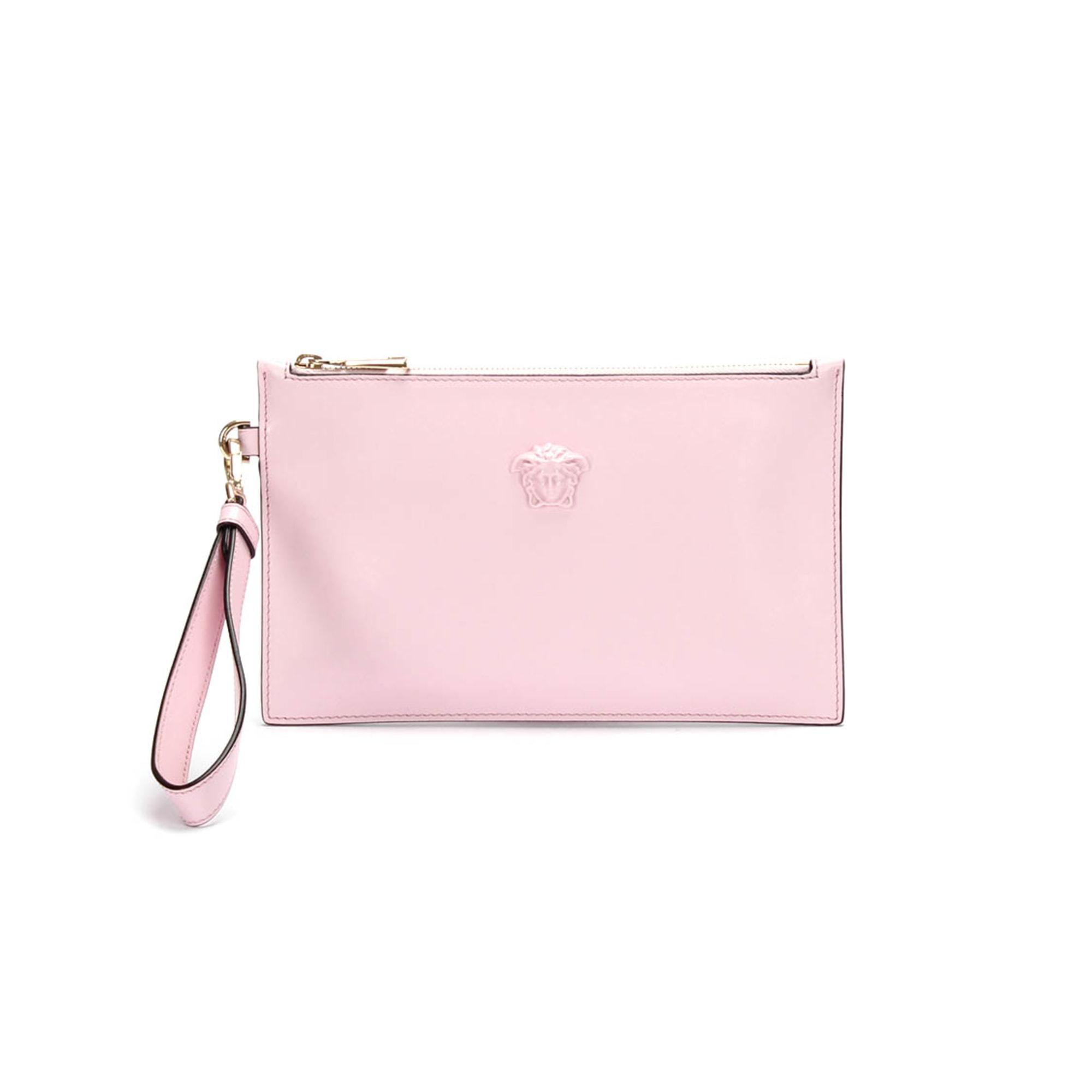 Handtasche Stoff VERSACE Pink,  altrosa