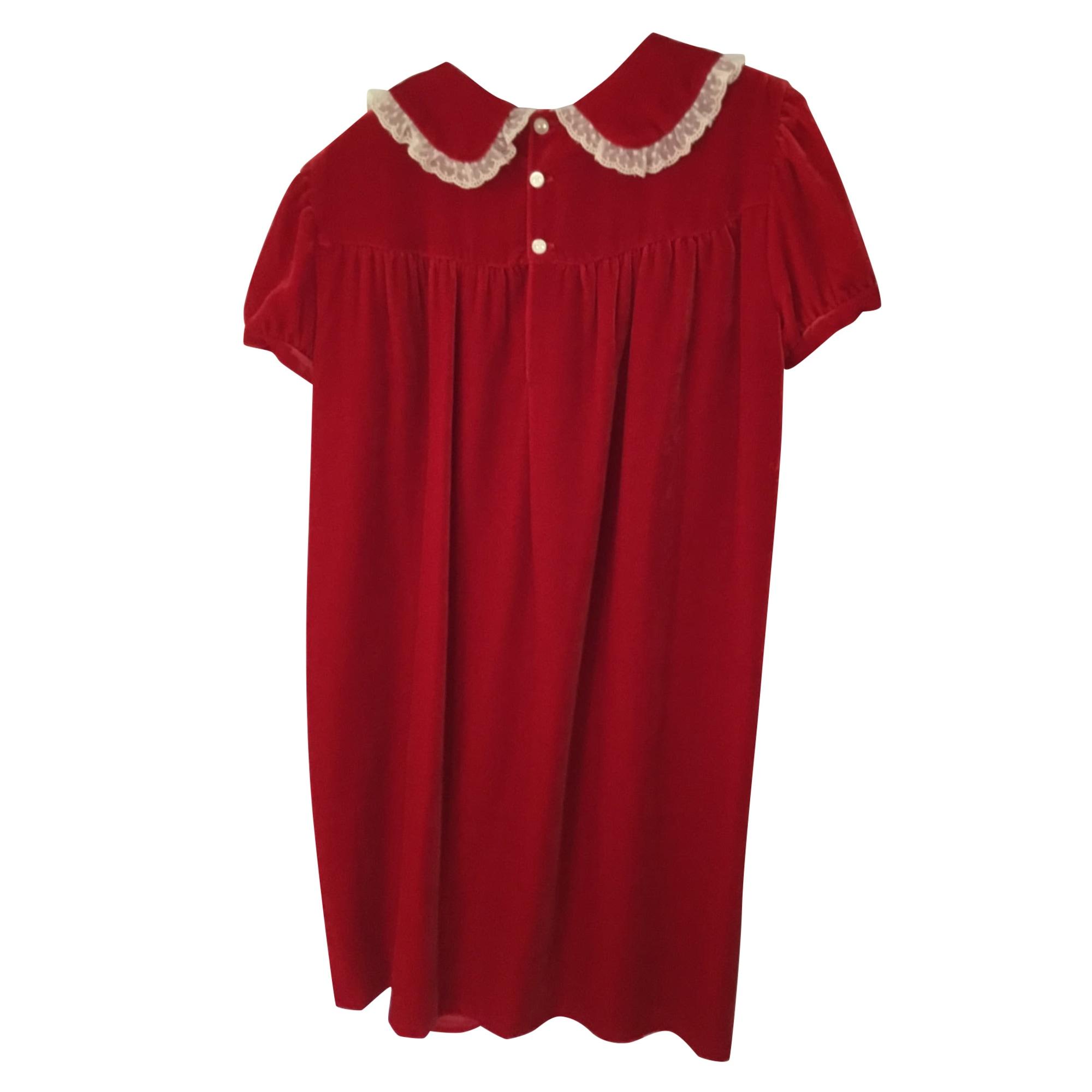 Robe BONPOINT Rouge, bordeaux