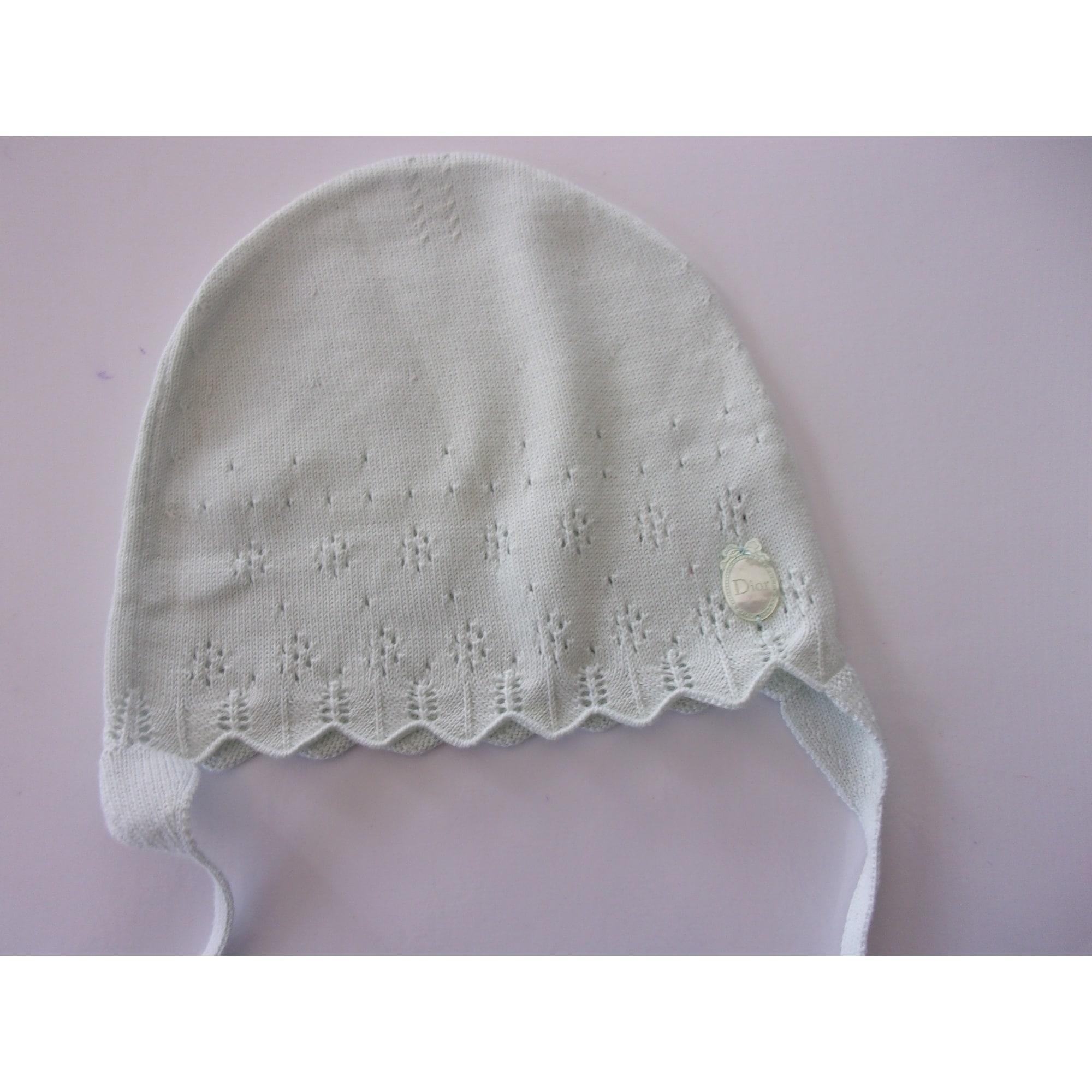 Bonnet BABY DIOR Vert