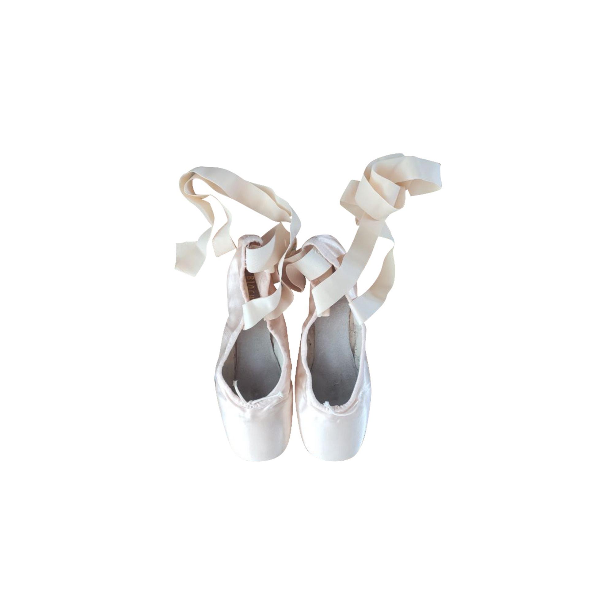 Chaussures de danse  BLOCH Blanc, blanc cassé, écru
