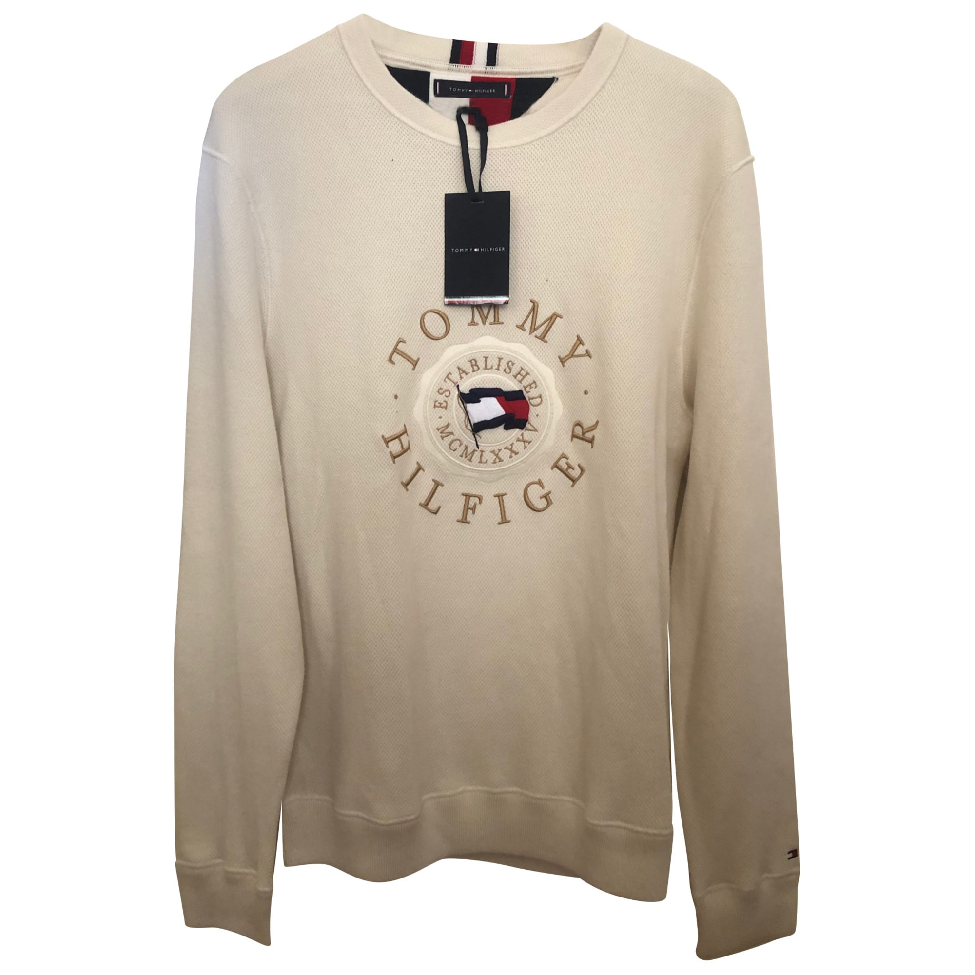 Sweater TOMMY HILFIGER White, off-white, ecru