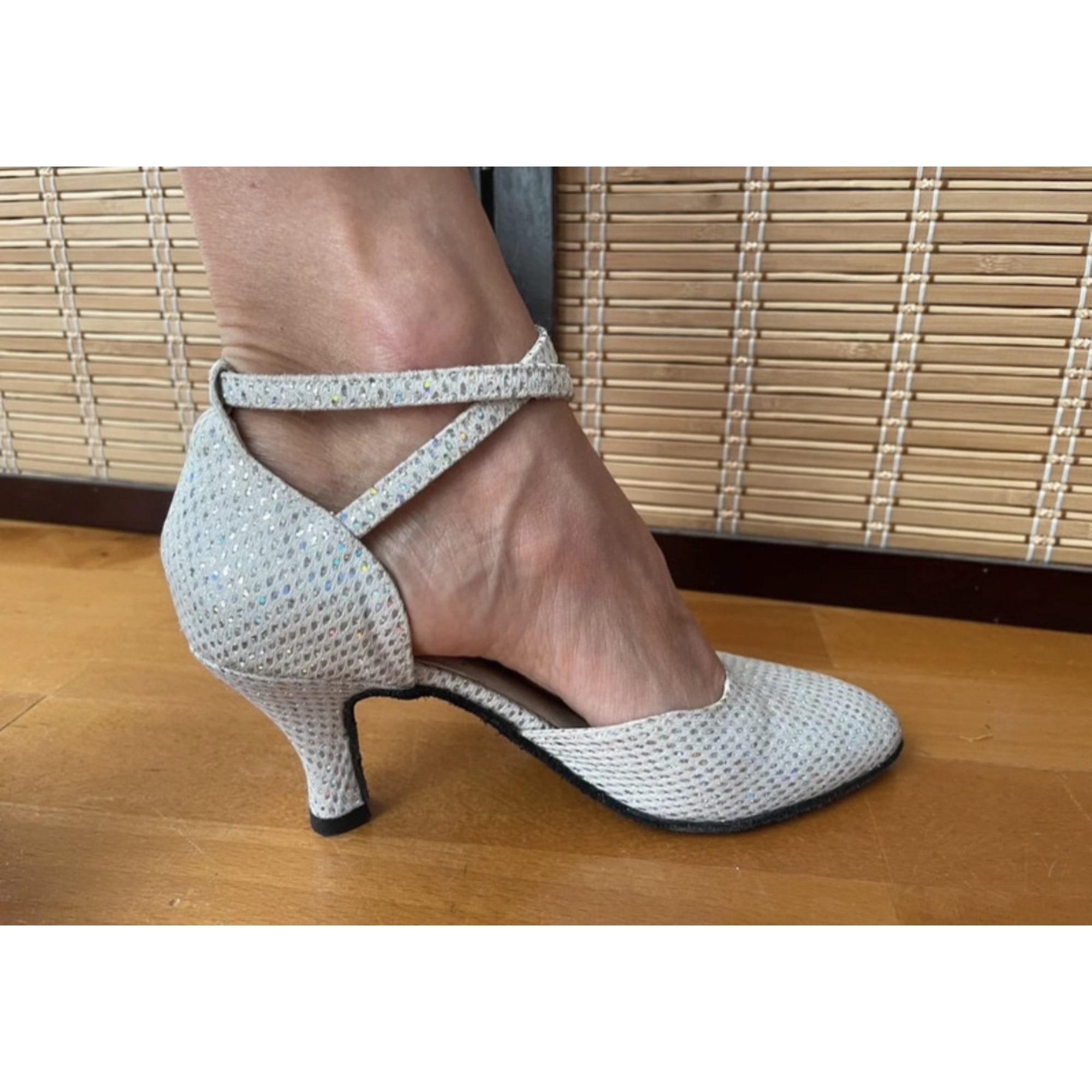 Chaussures de danse  MAGIC FEET Argenté, acier