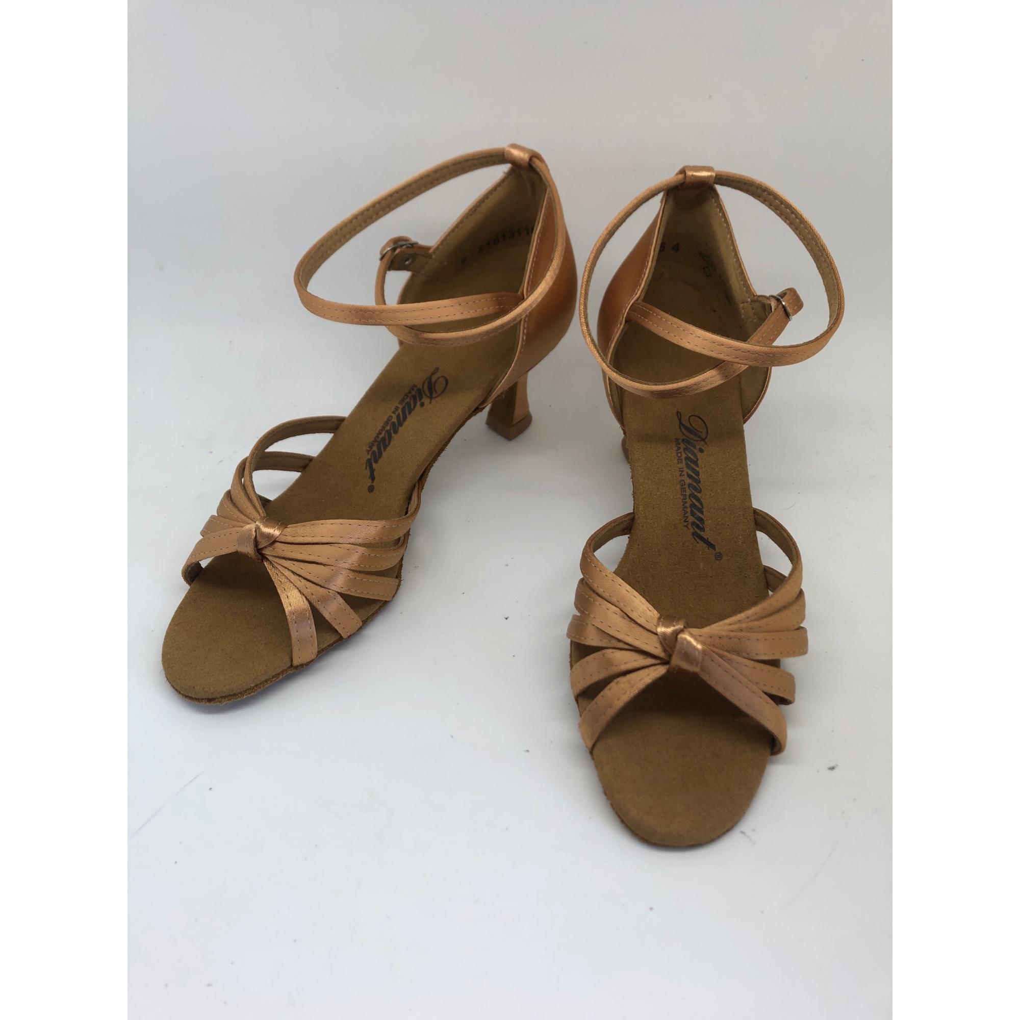 Chaussures de danse  DIAMANT Marron