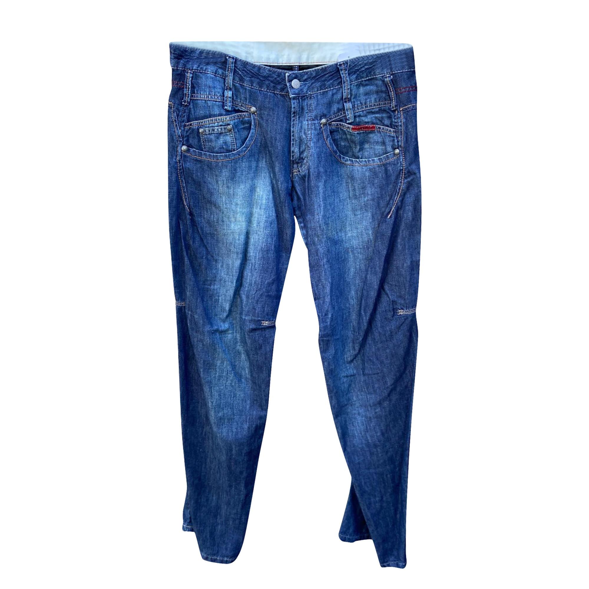Wide Leg Jeans MARITHÉ ET FRANÇOIS GIRBAUD Blue, navy, turquoise