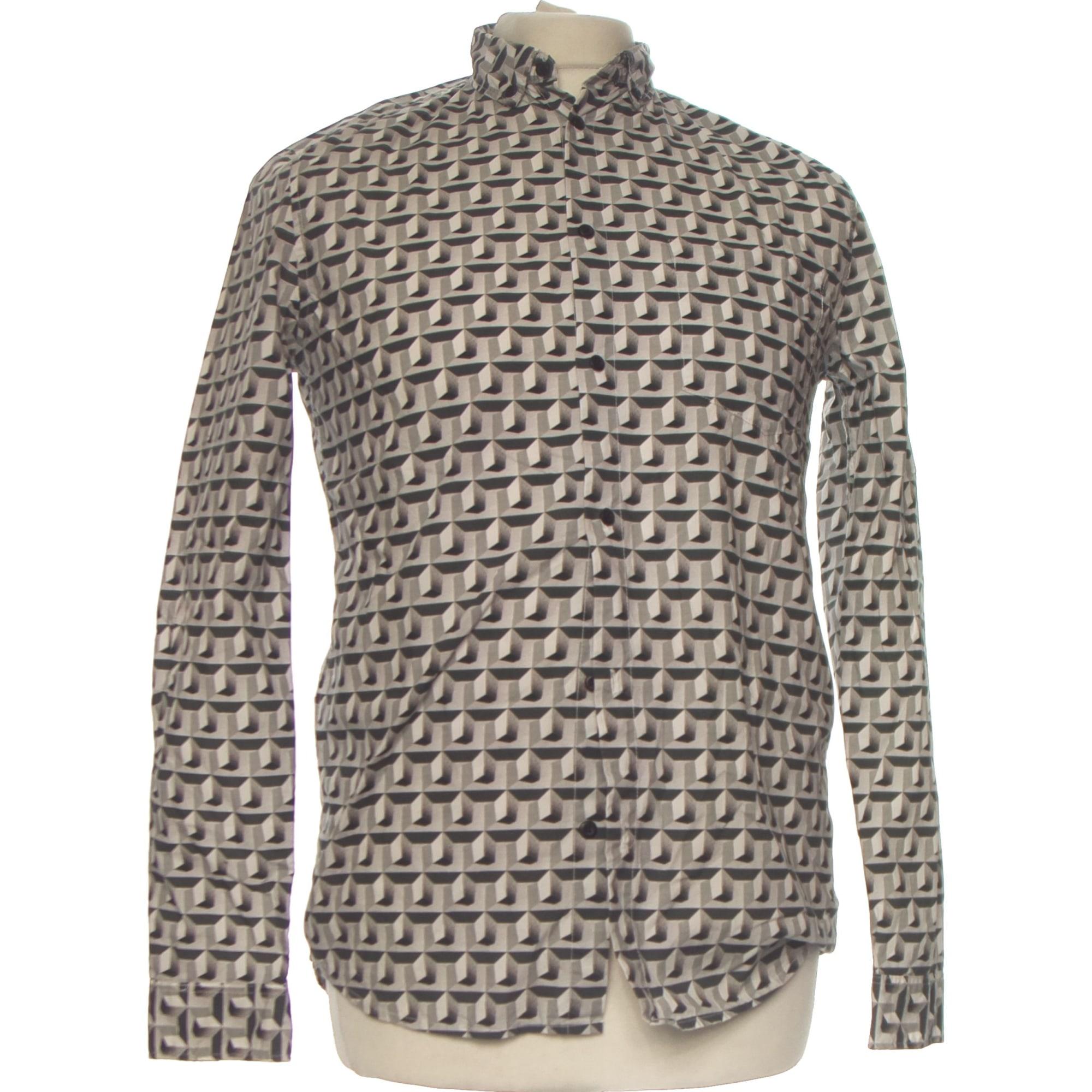 Shirt H&M Gray, charcoal