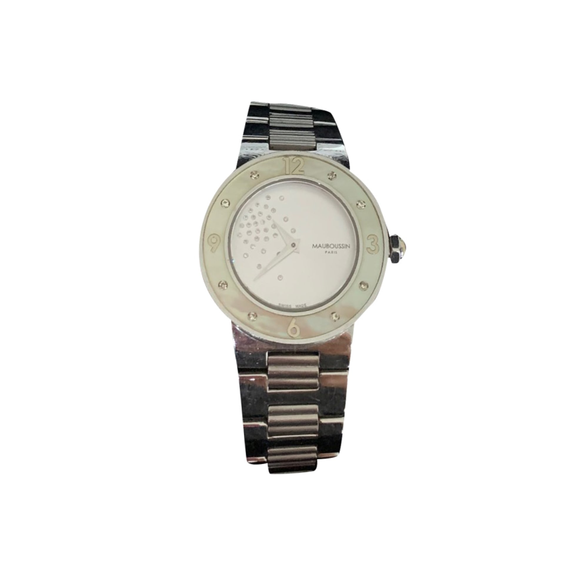 Wrist Watch MAUBOUSSIN Silver