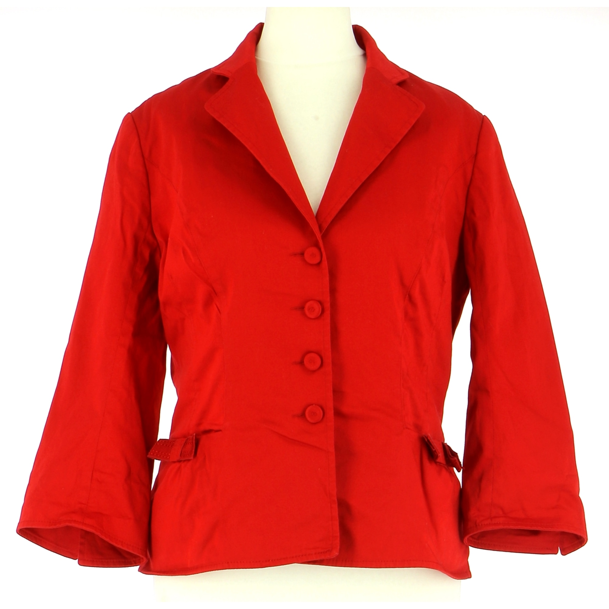 Jacket TARA JARMON Red, burgundy