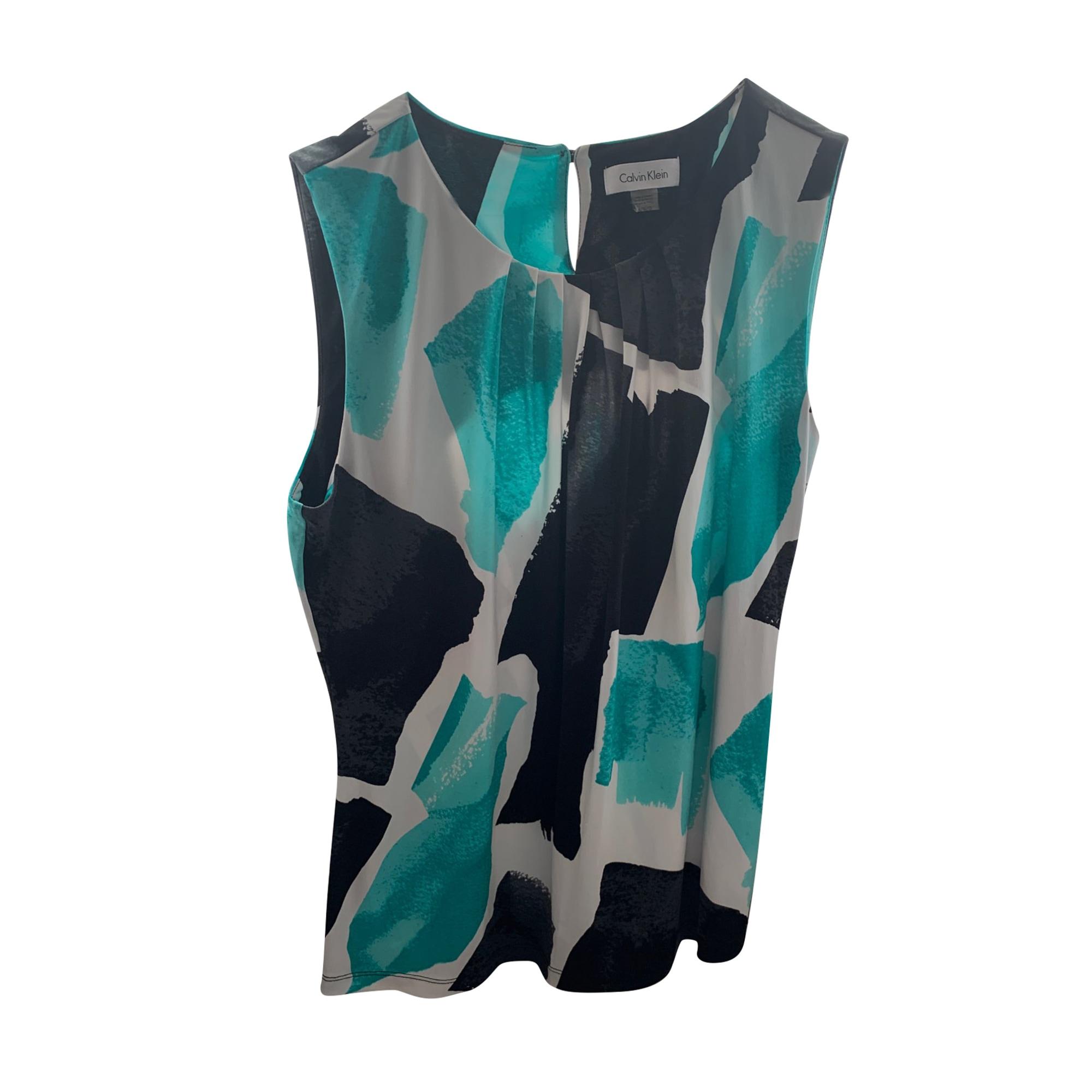 Top, tee-shirt CALVIN KLEIN Multicouleur