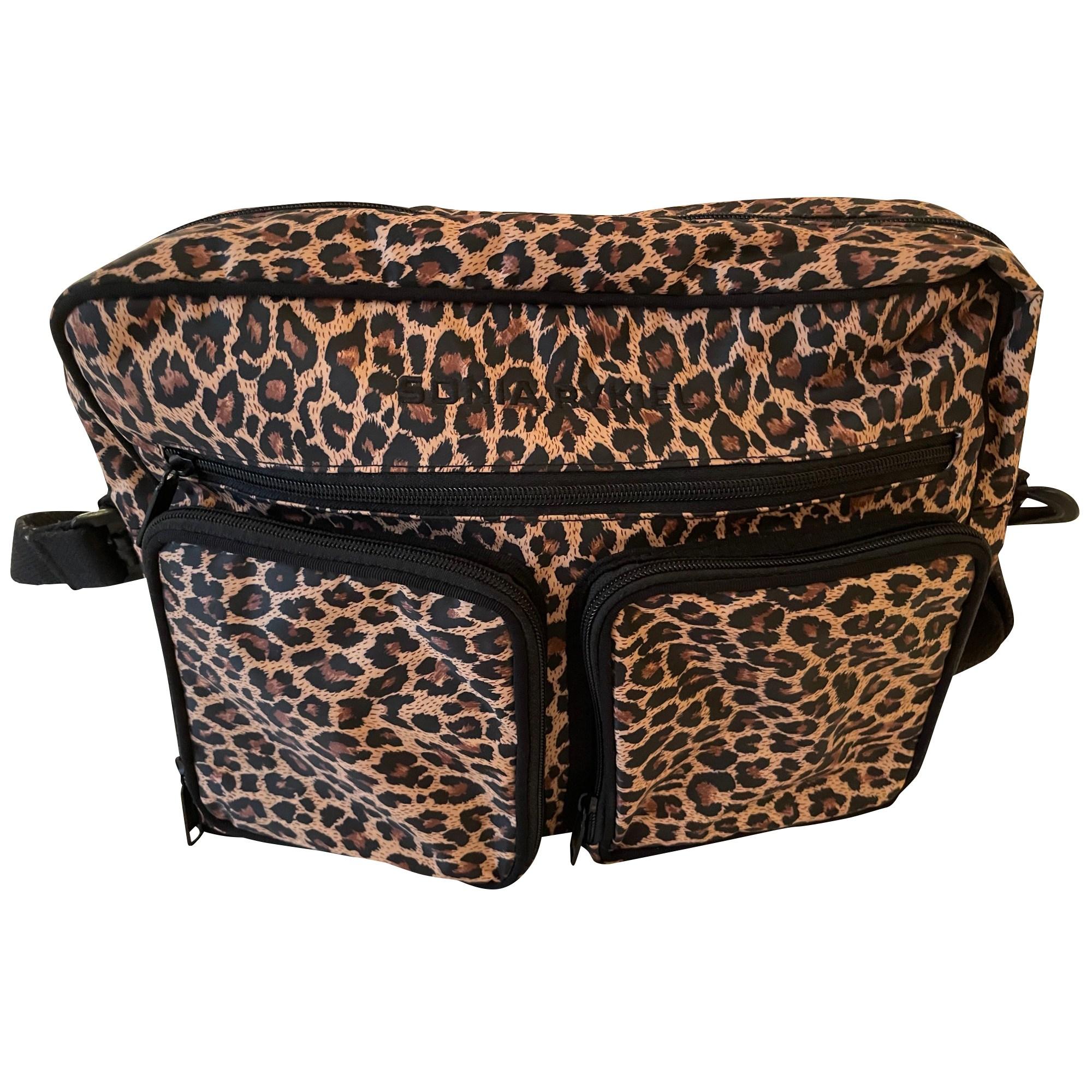 Non-Leather Shoulder Bag SONIA RYKIEL Animal prints