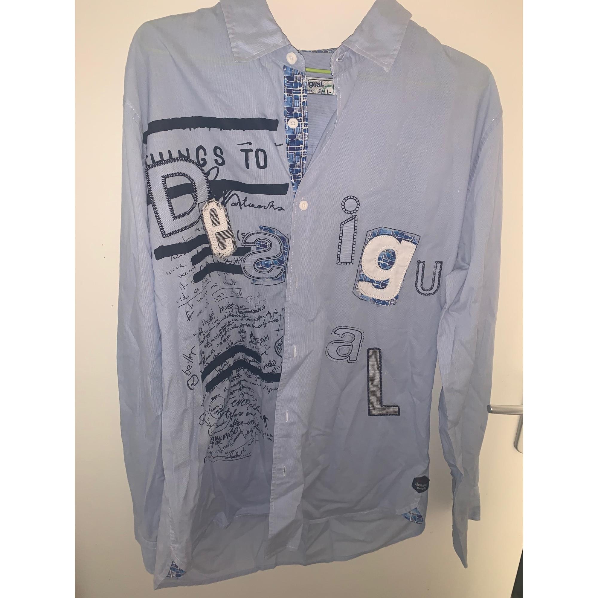 Shirt DESIGUAL Blue, navy, turquoise