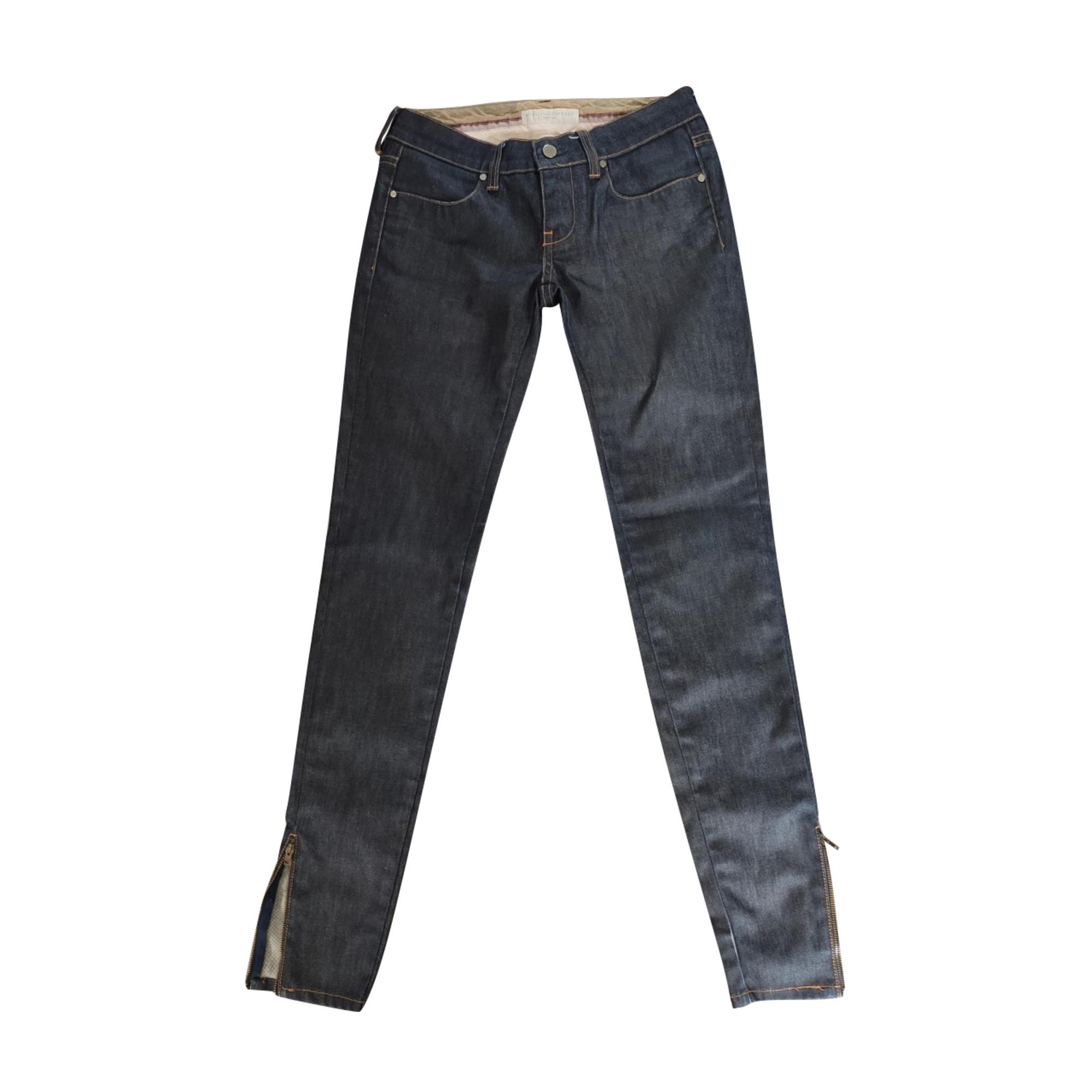 Skinny Jeans STELLA MCCARTNEY Blau, marineblau, türkisblau