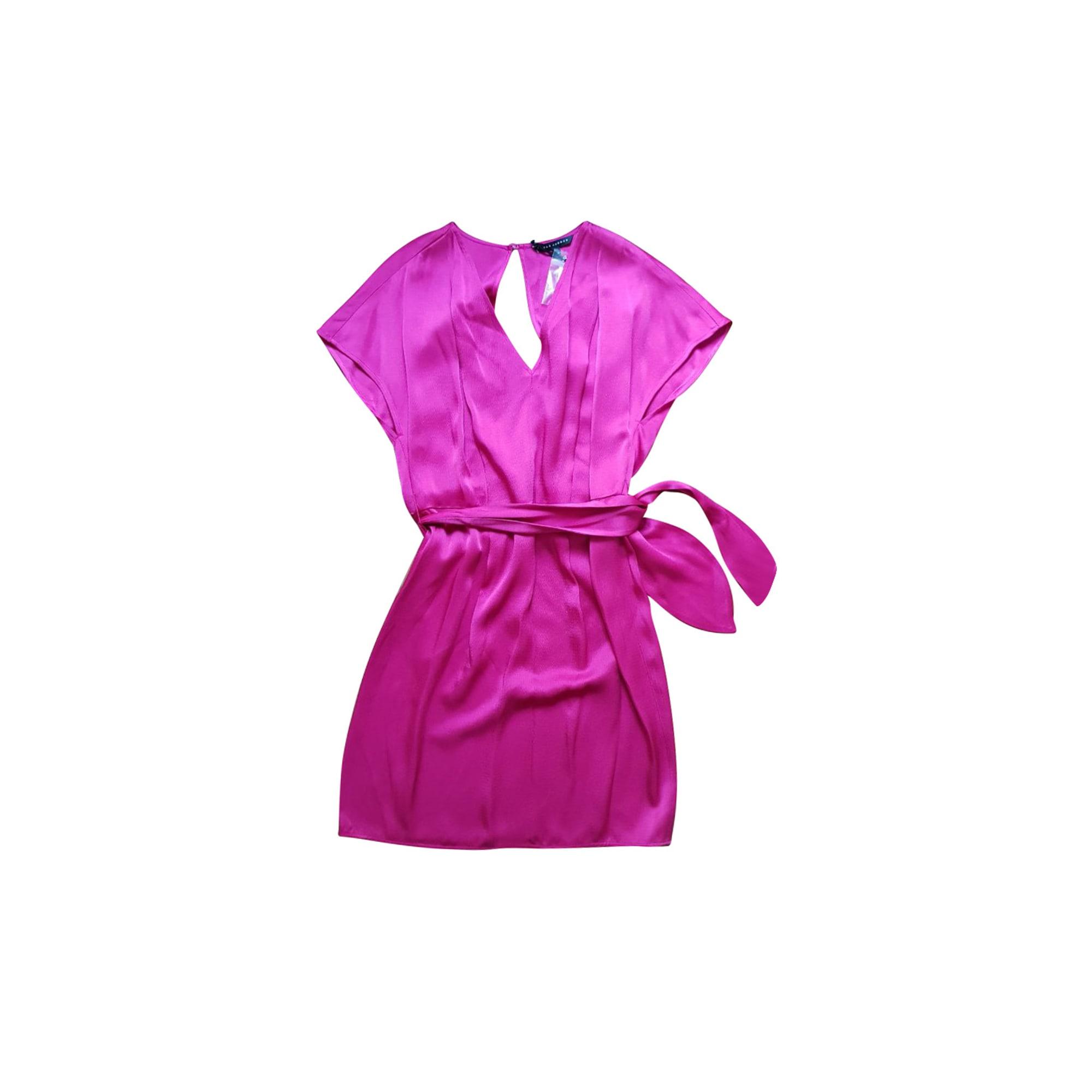 Mini Dress TARA JARMON Pink, fuchsia, light pink