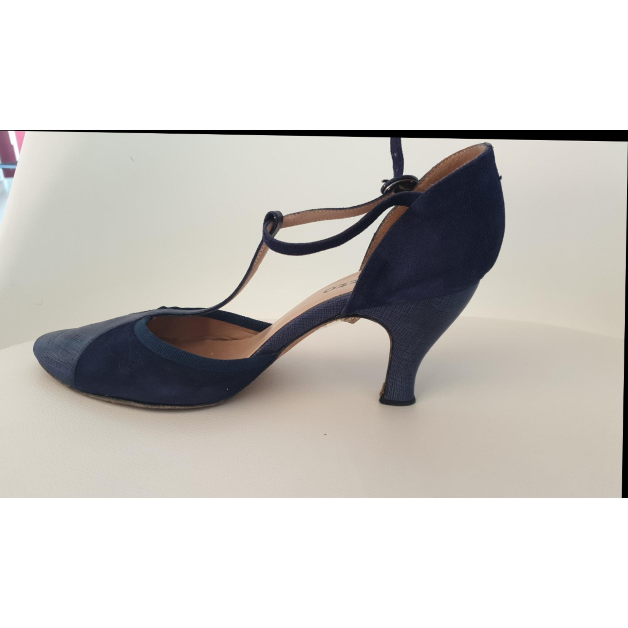 Chaussures de danse  REPETTO Bleu, bleu marine, bleu turquoise