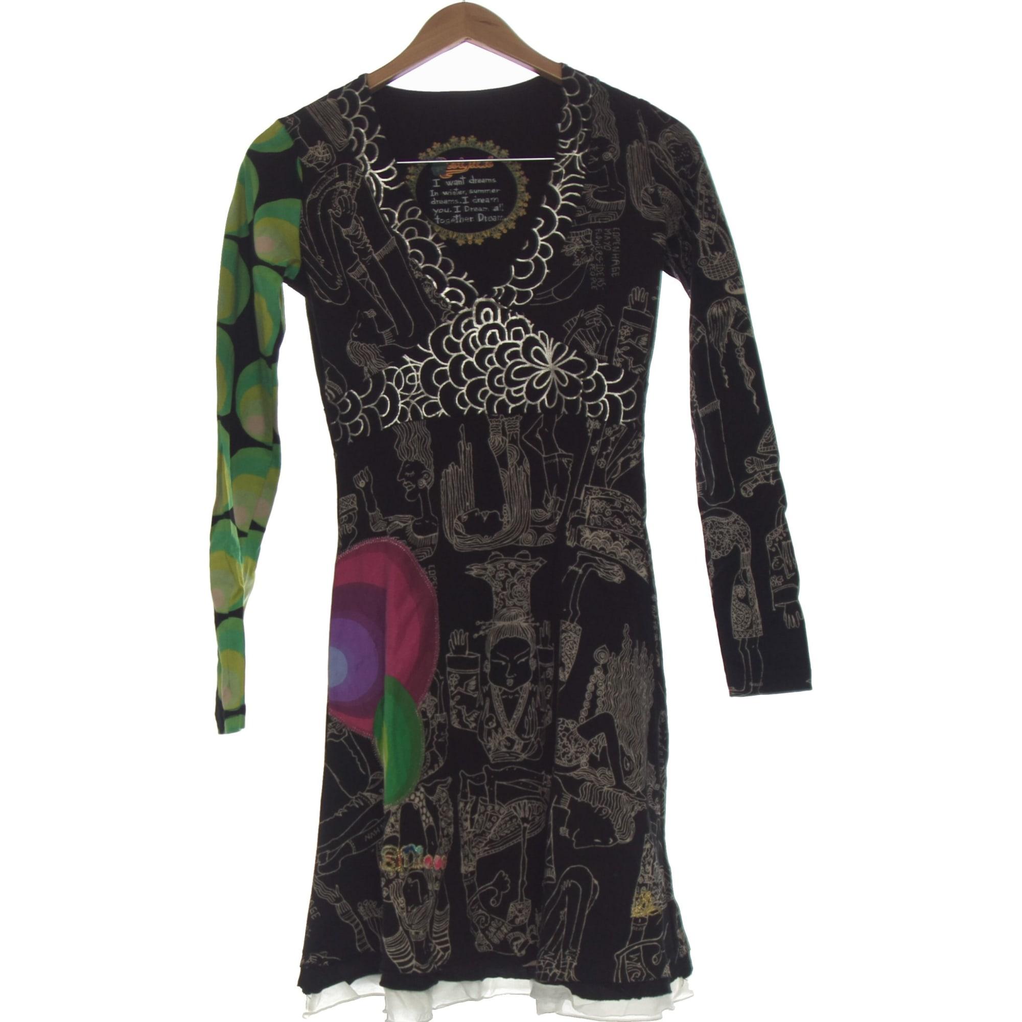 Robe courte DESIGUAL Noir
