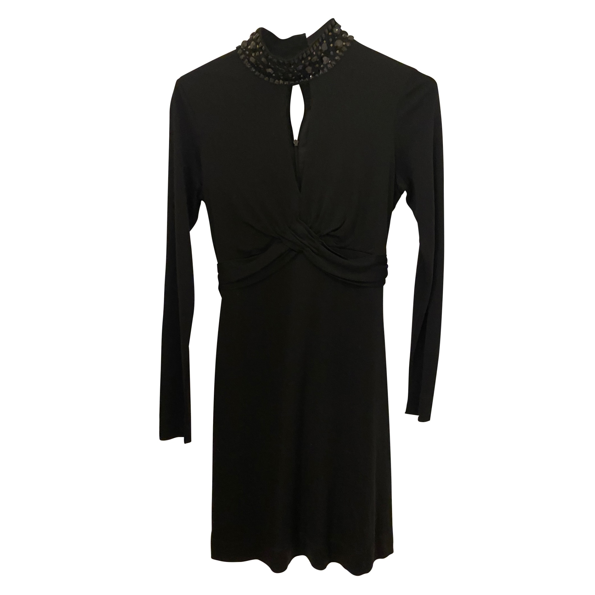 Robe mi-longue VALENTINO Noir
