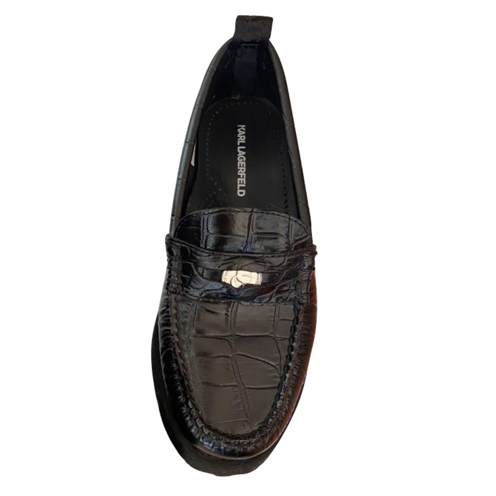 Loafers KARL LAGERFELD Black