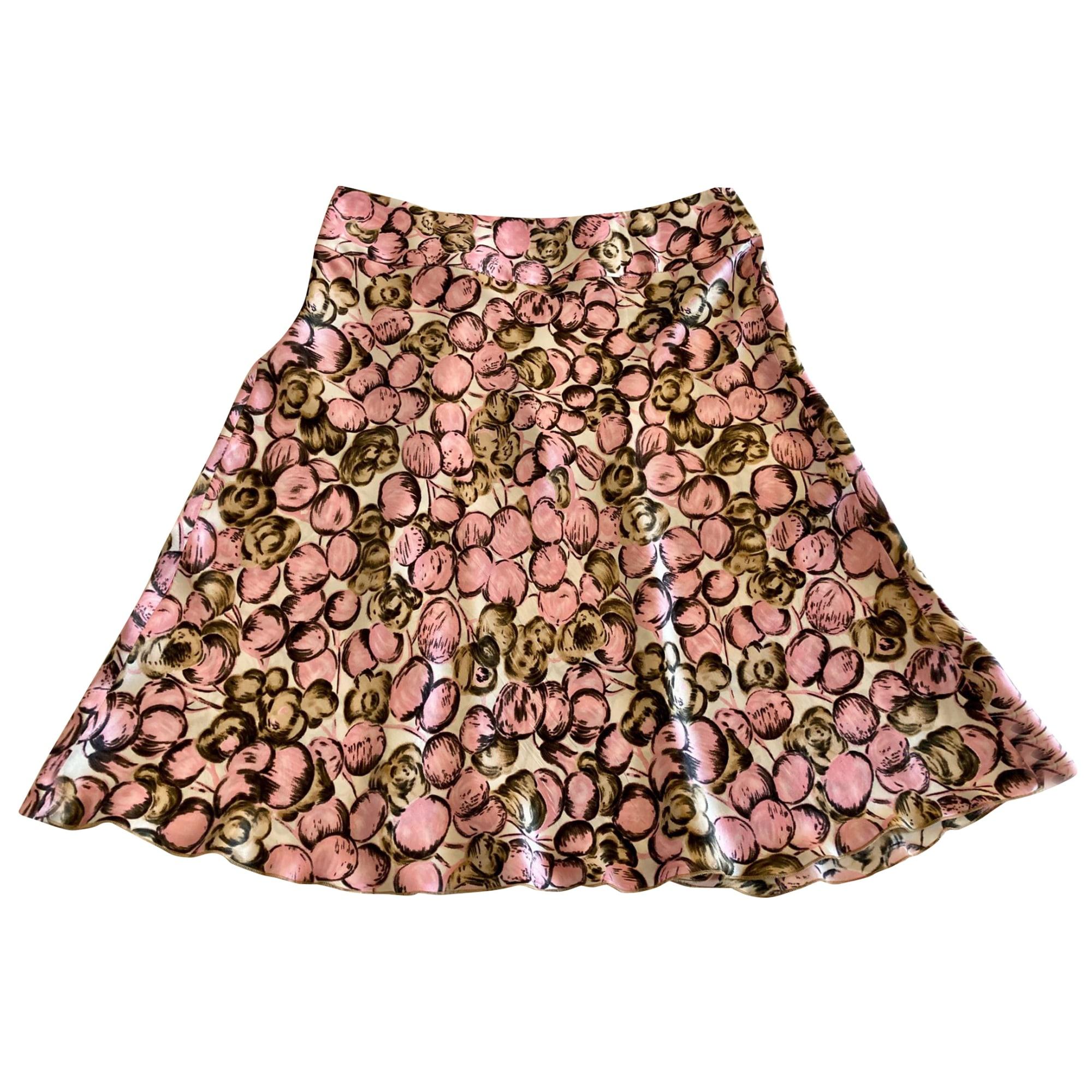 Midi Skirt TARA JARMON Pink, fuchsia, light pink