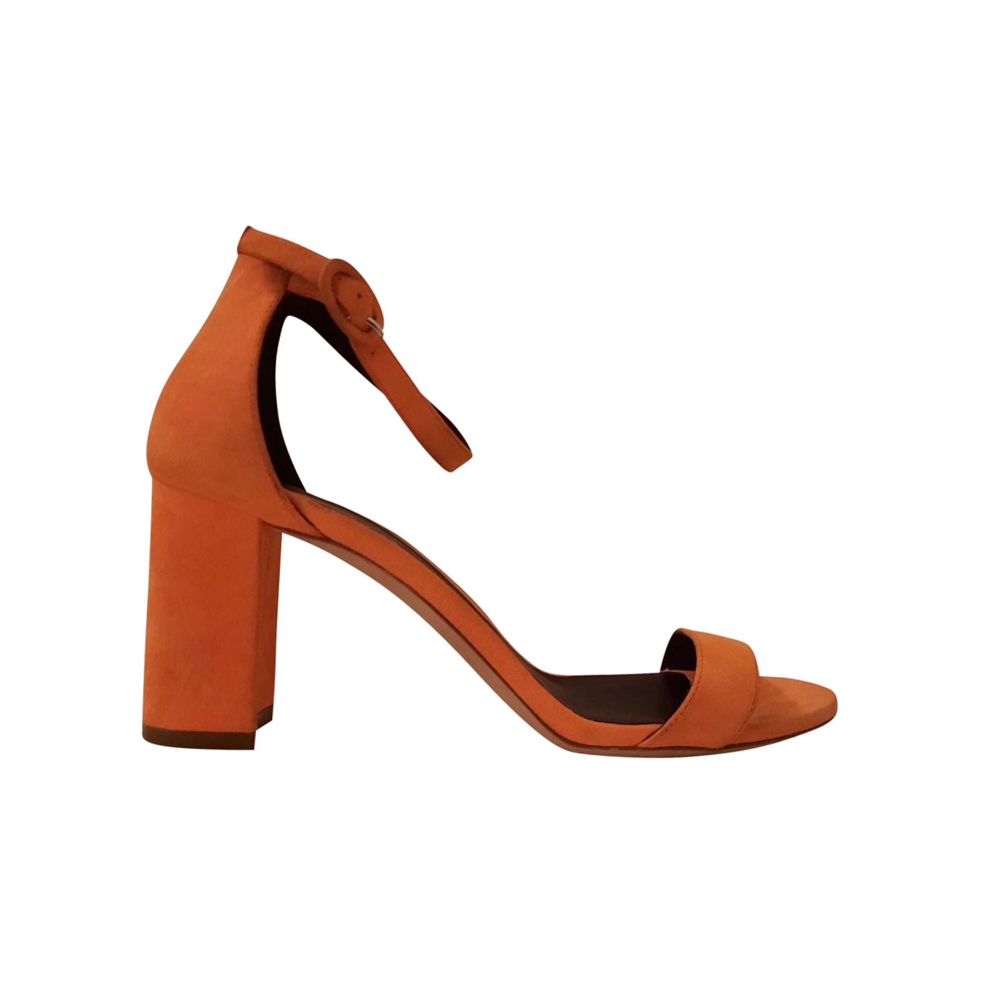Sandales à talons REPETTO Orange