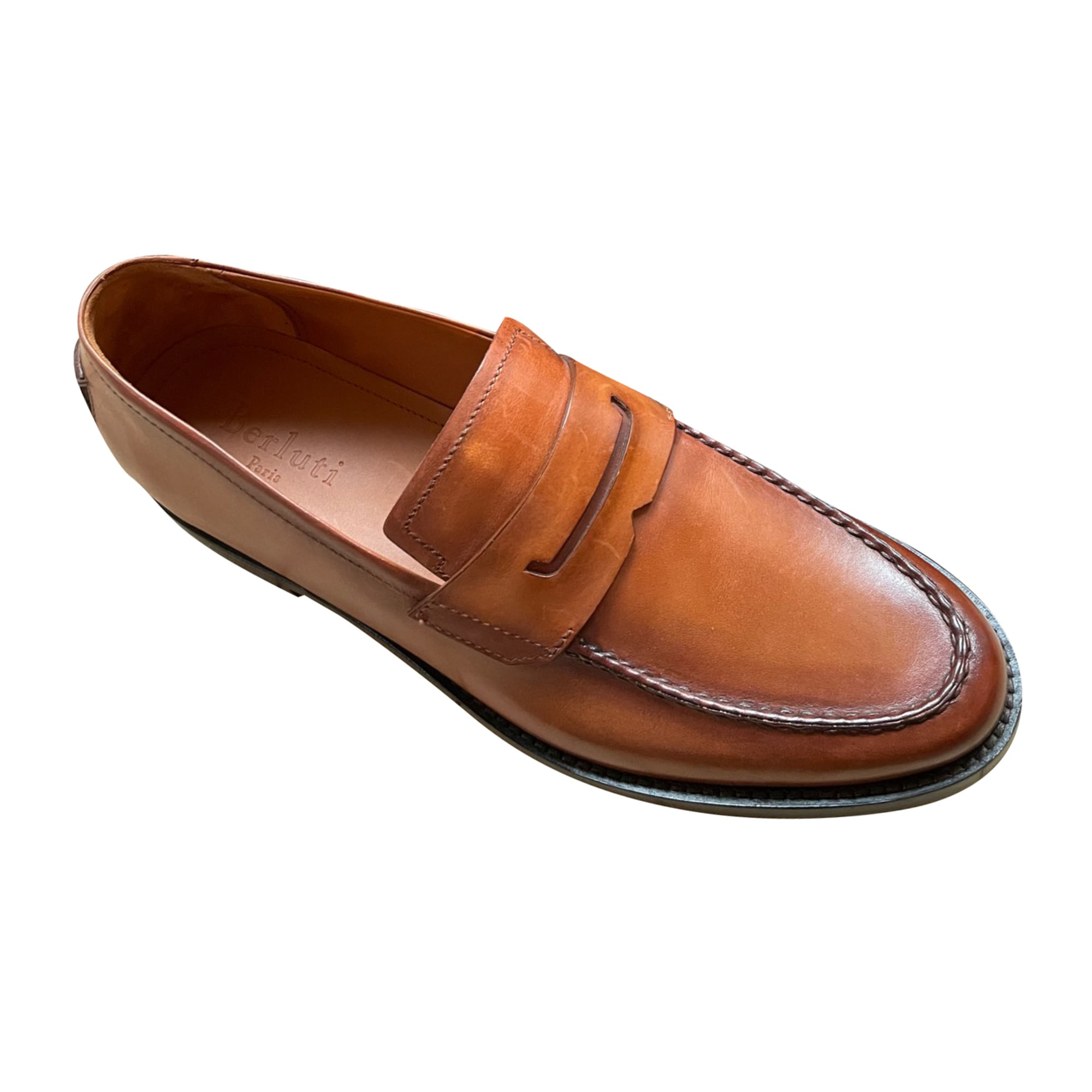 Loafers BERLUTI Beige, camel