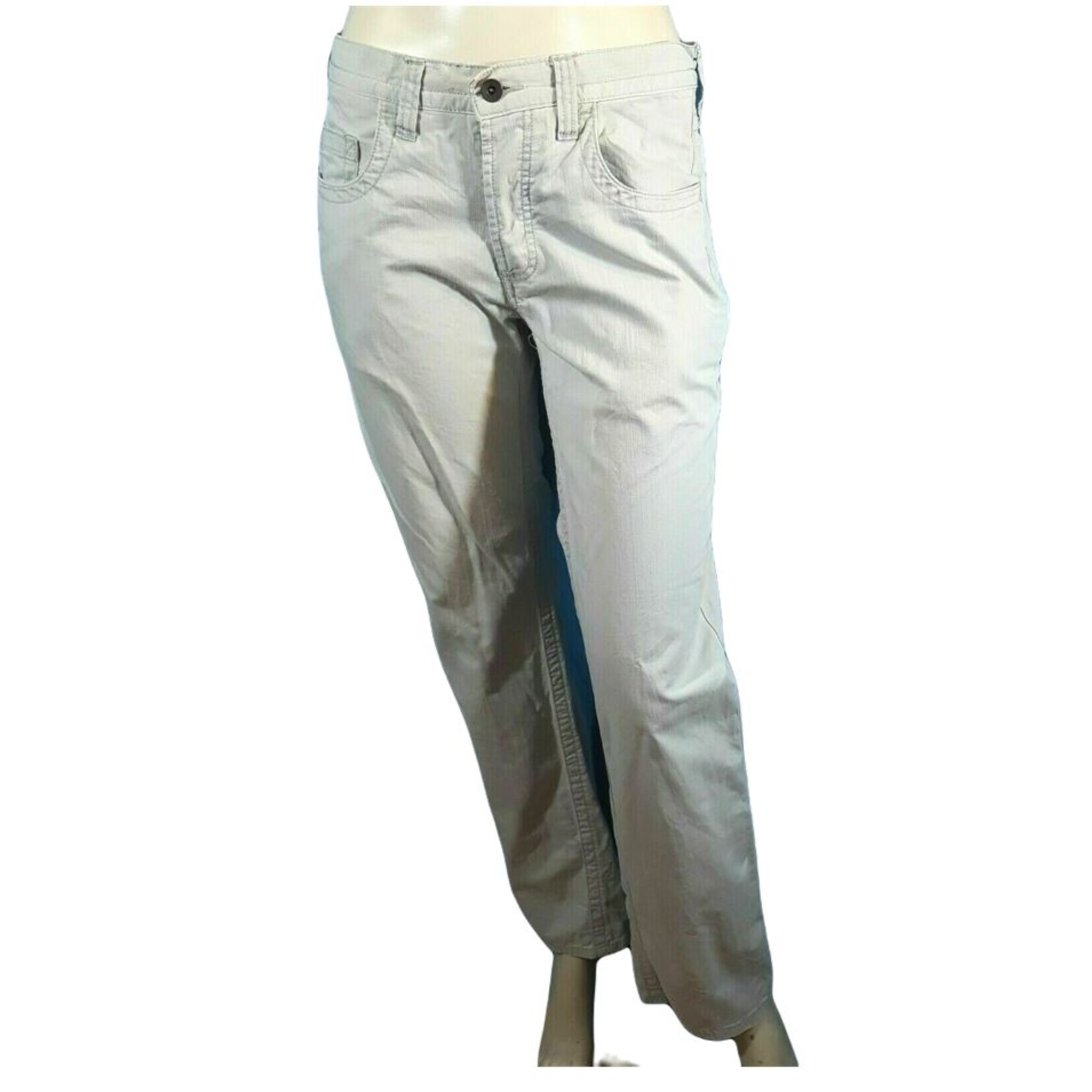Straight Leg Jeans JULES Gray, charcoal