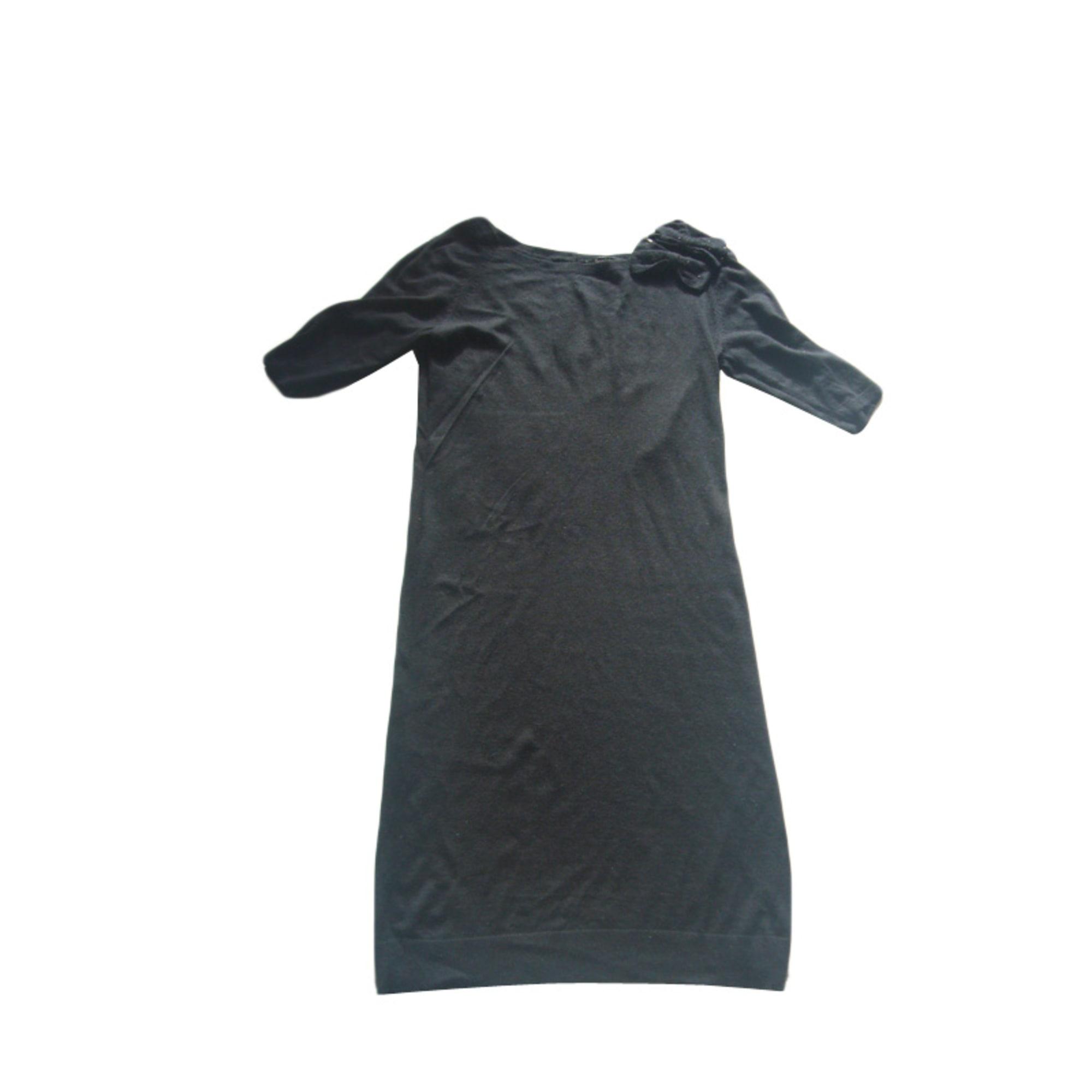 Robe pull TARA JARMON Noir