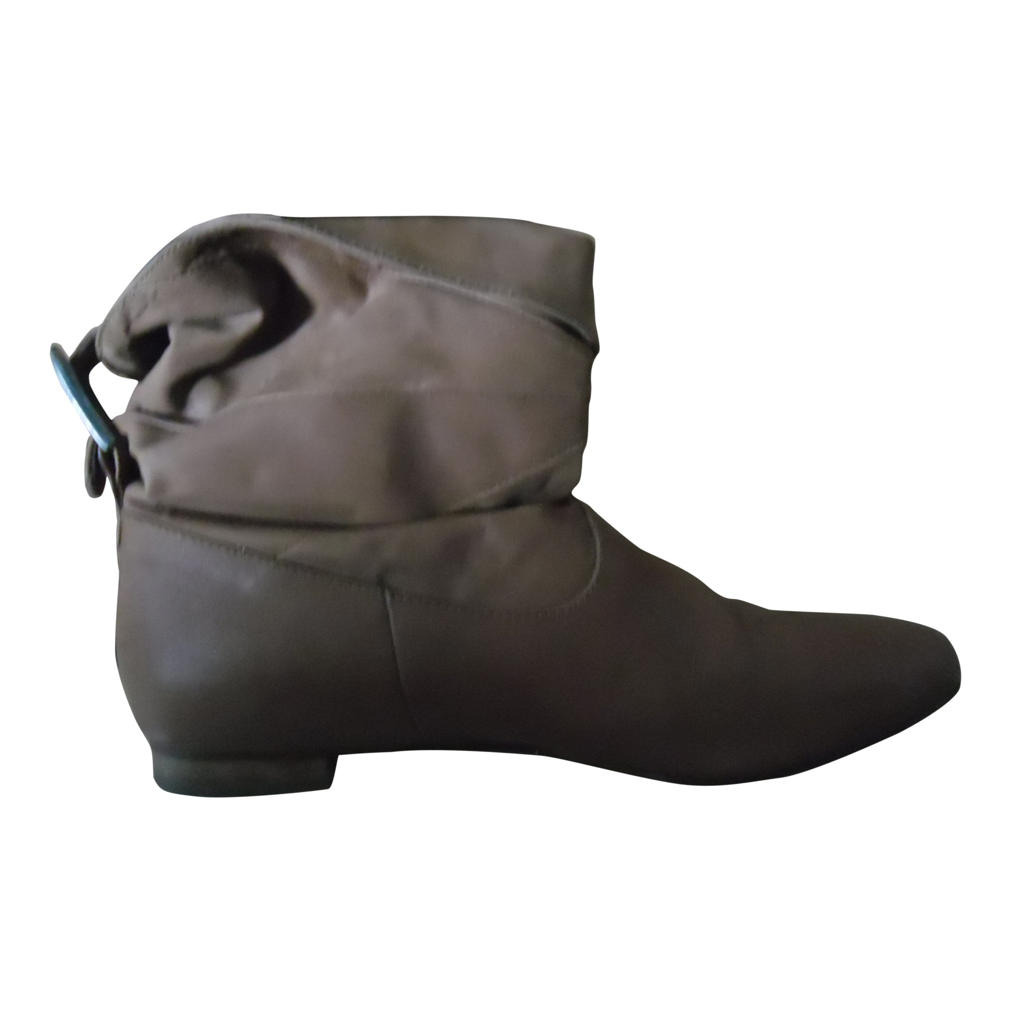 Bottines & low boots plates MELLOW YELLOW Beige, camel