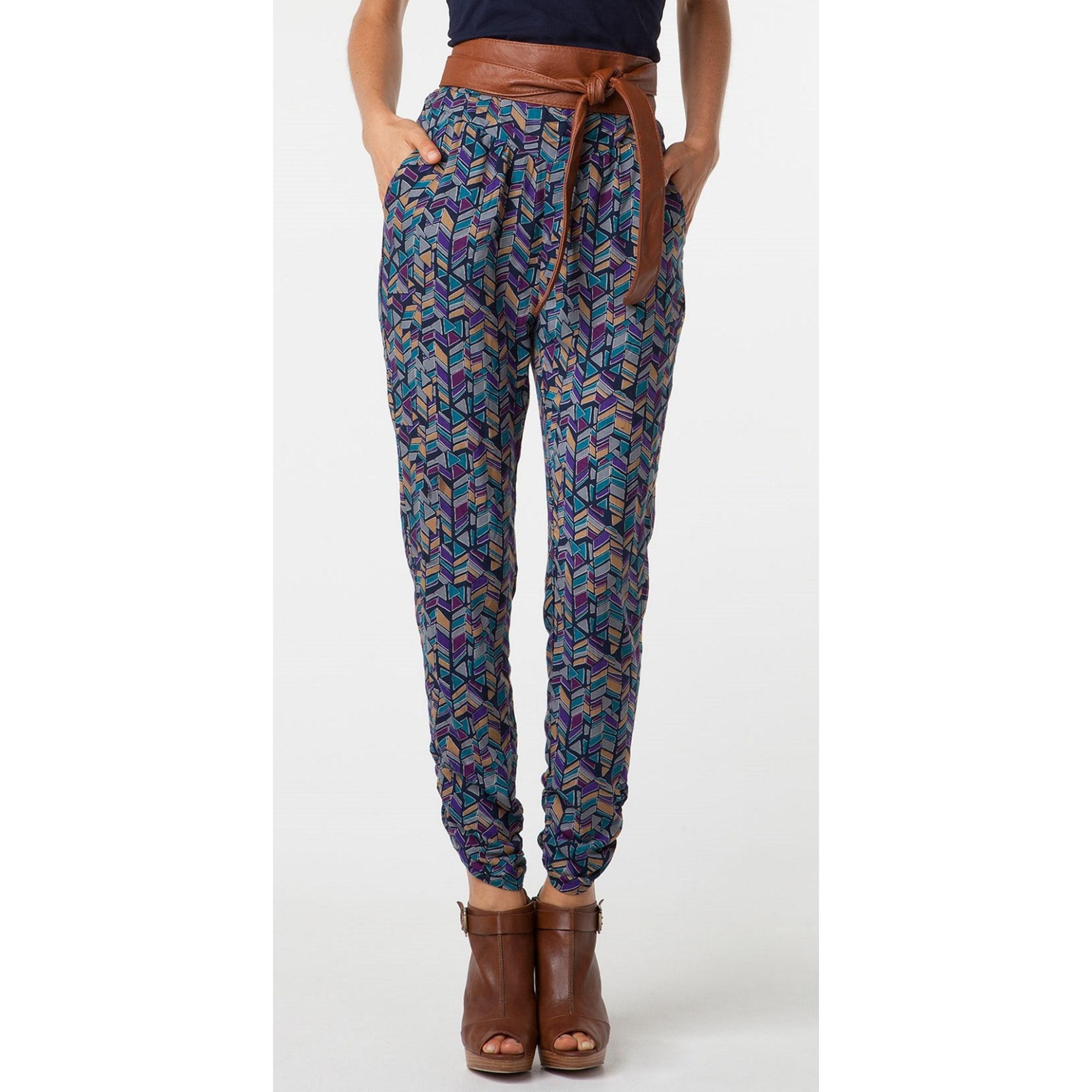 Pantalon large BERSHKA Multicouleur